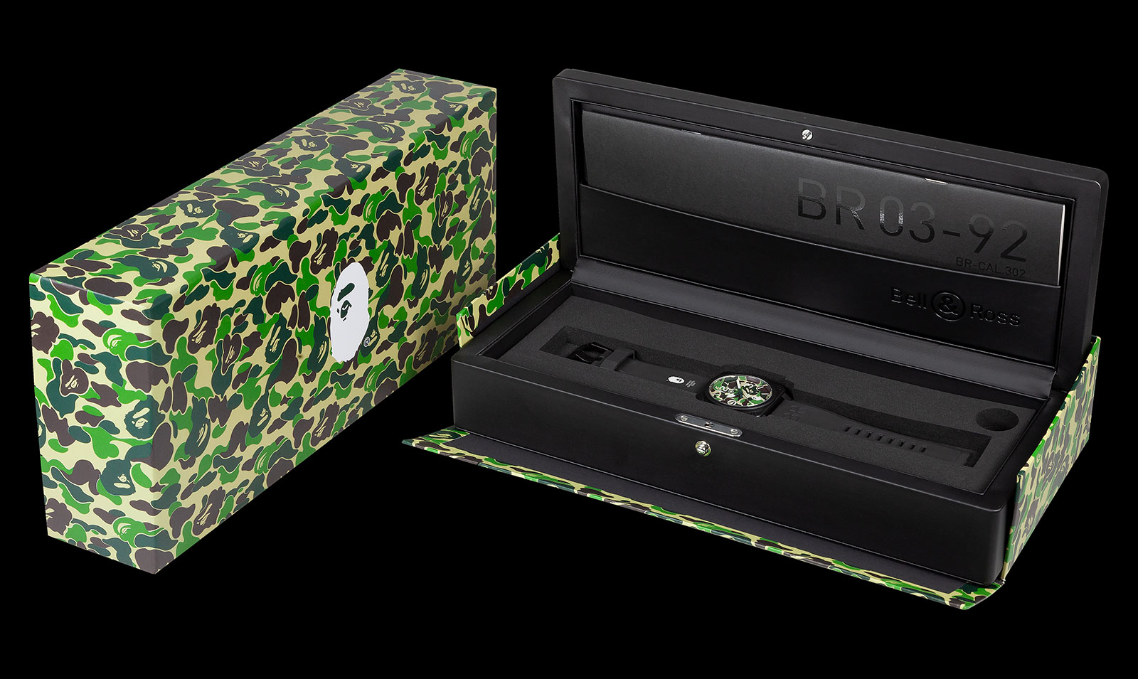 bell ross bape XXV box 1