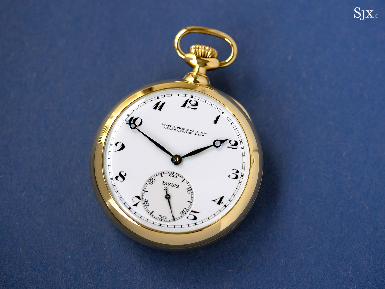 patek observatory tourbillon pocket watch 198312 1