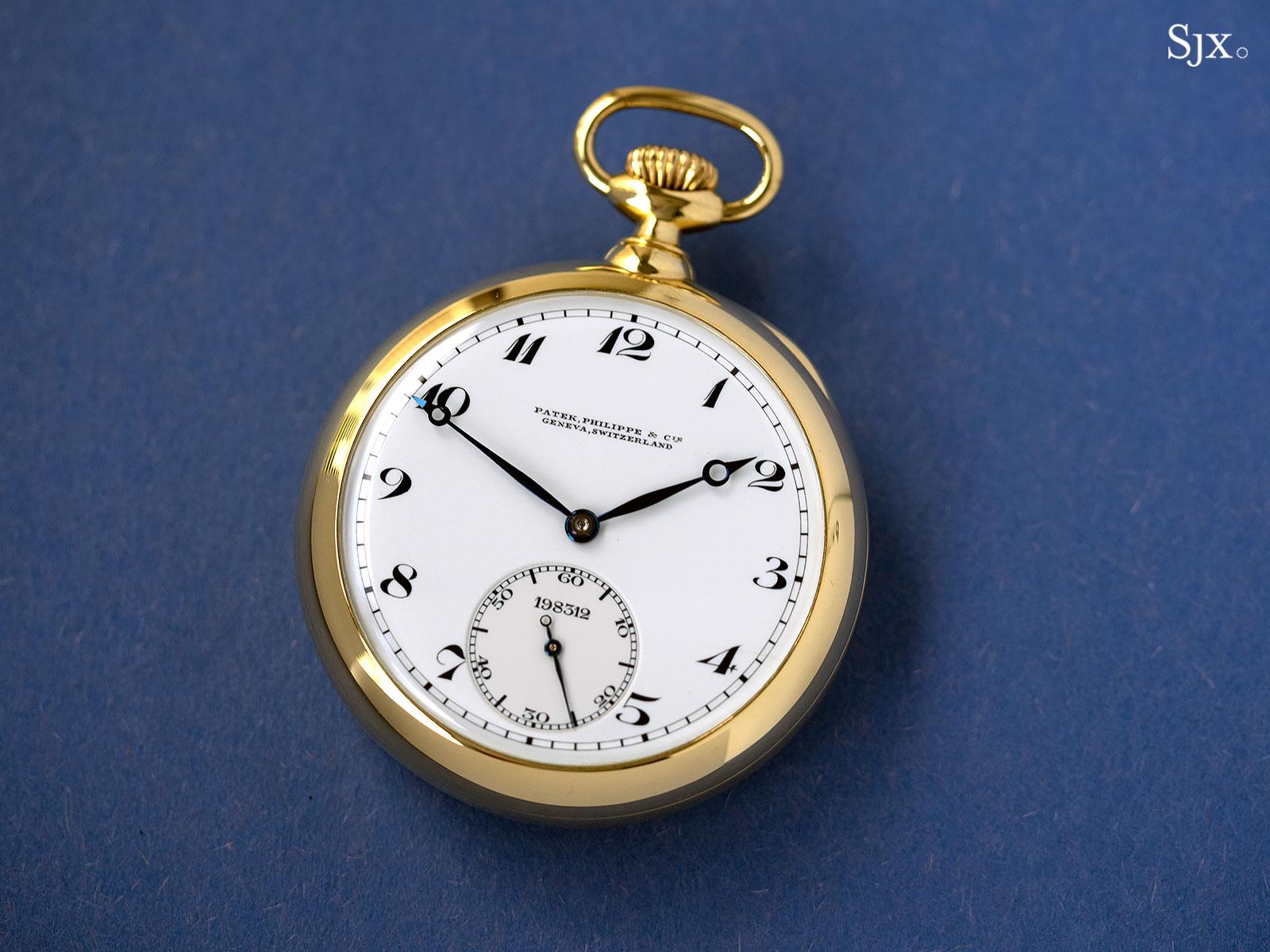 Up Close: Patek Philippe Observatory Tourbillon Pocket Watch No. 198'312 | SJX Watches
