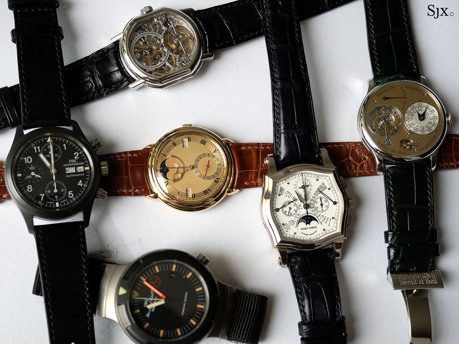 1990s watch collection header