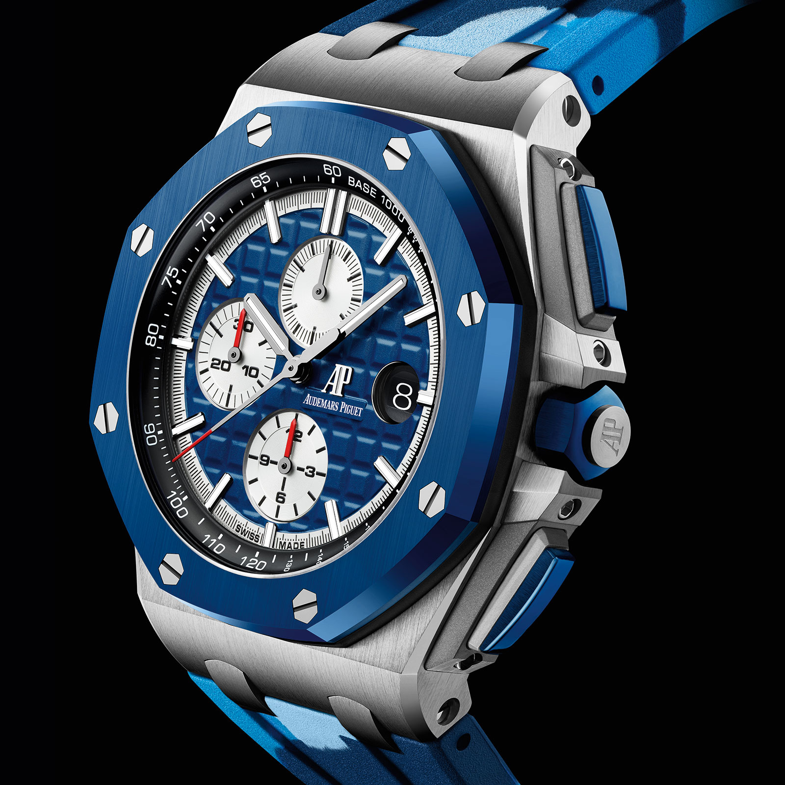 Audemars Piguet Royal Oak Offshore Camo blue