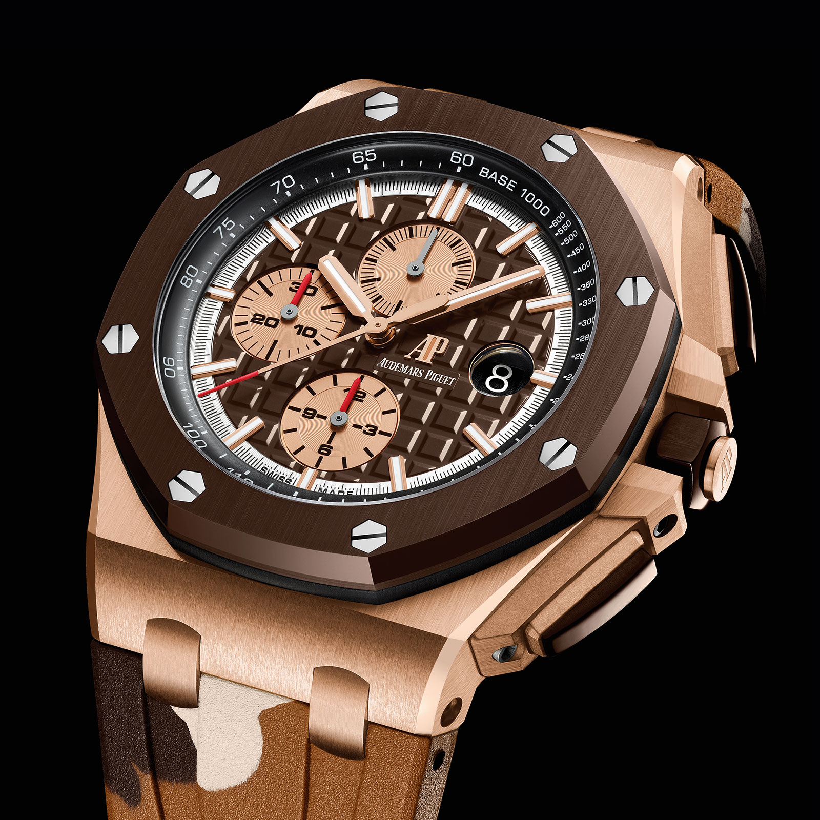 Audemars Piguet Royal Oak Offshore Camo brown