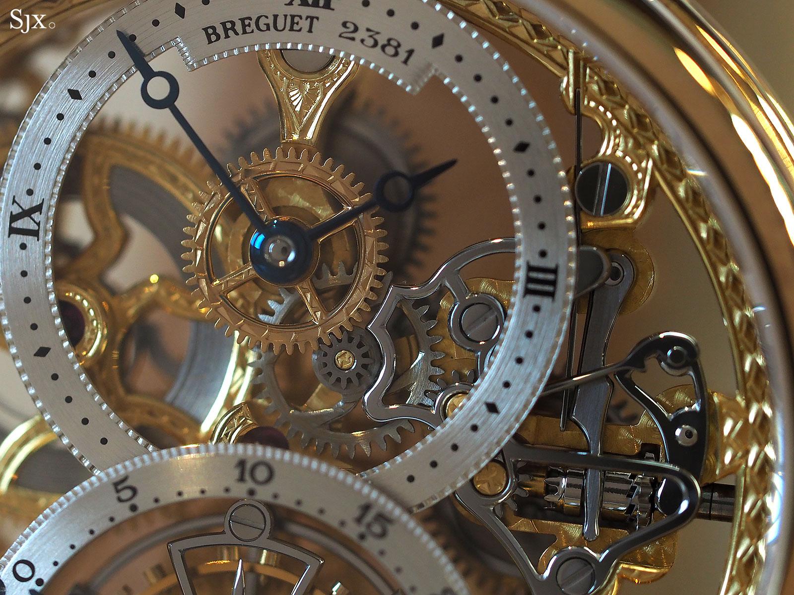 Breguet Classique Tourbillon Skeleton YG 1