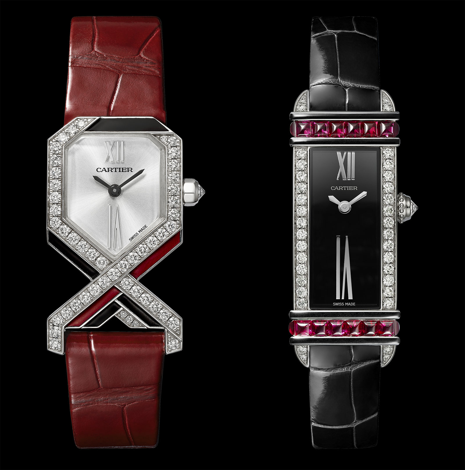 Cartier Libre Diagonale and Tank Chinoise