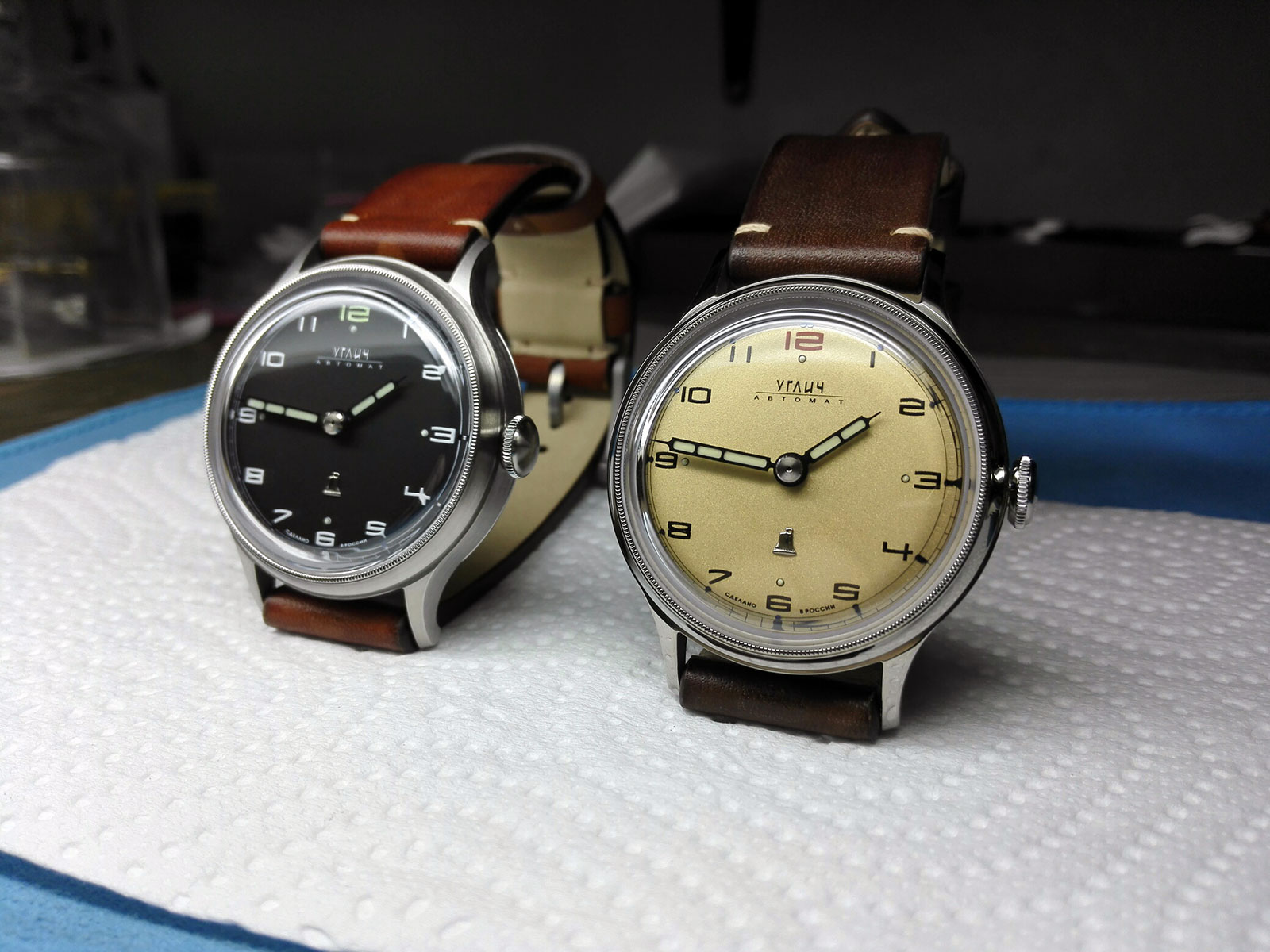 Colibrica Design Uglich automatic watch 2