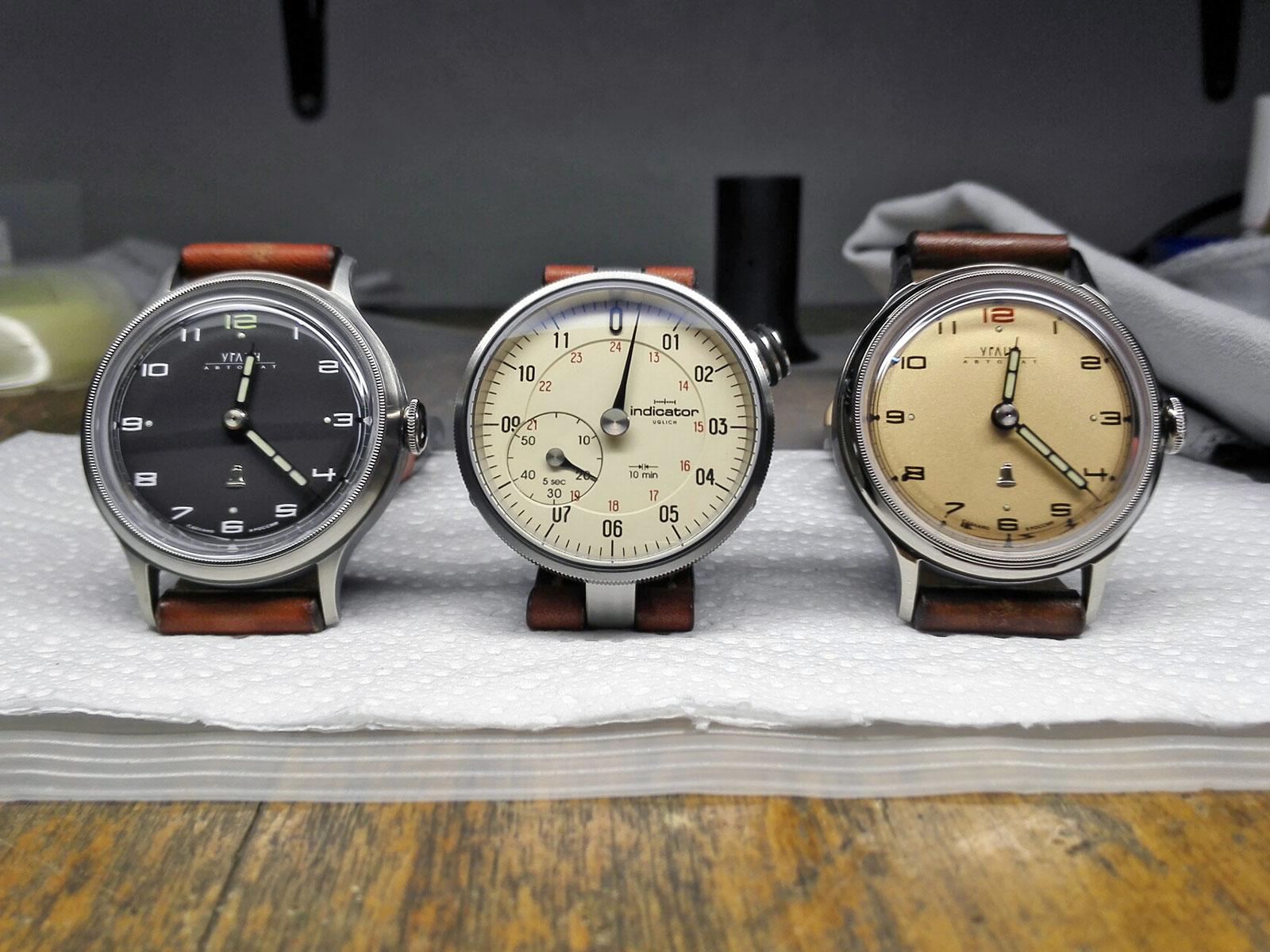 Colibrica design Inidcator watch 2