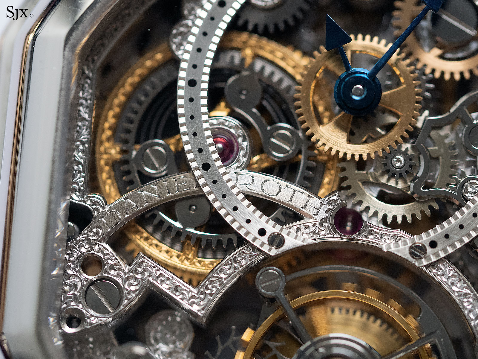 Daniel Roth tourbillon double face skeleton 2