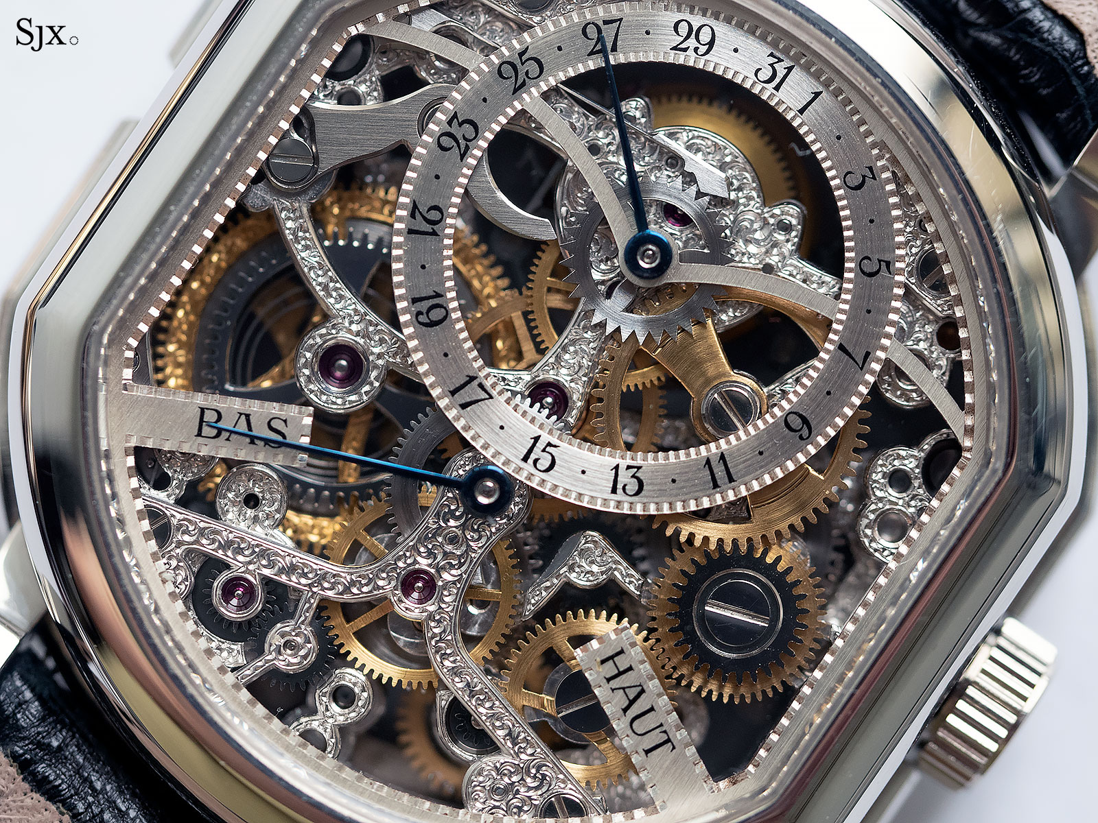 Daniel Roth tourbillon double face skeleton 4
