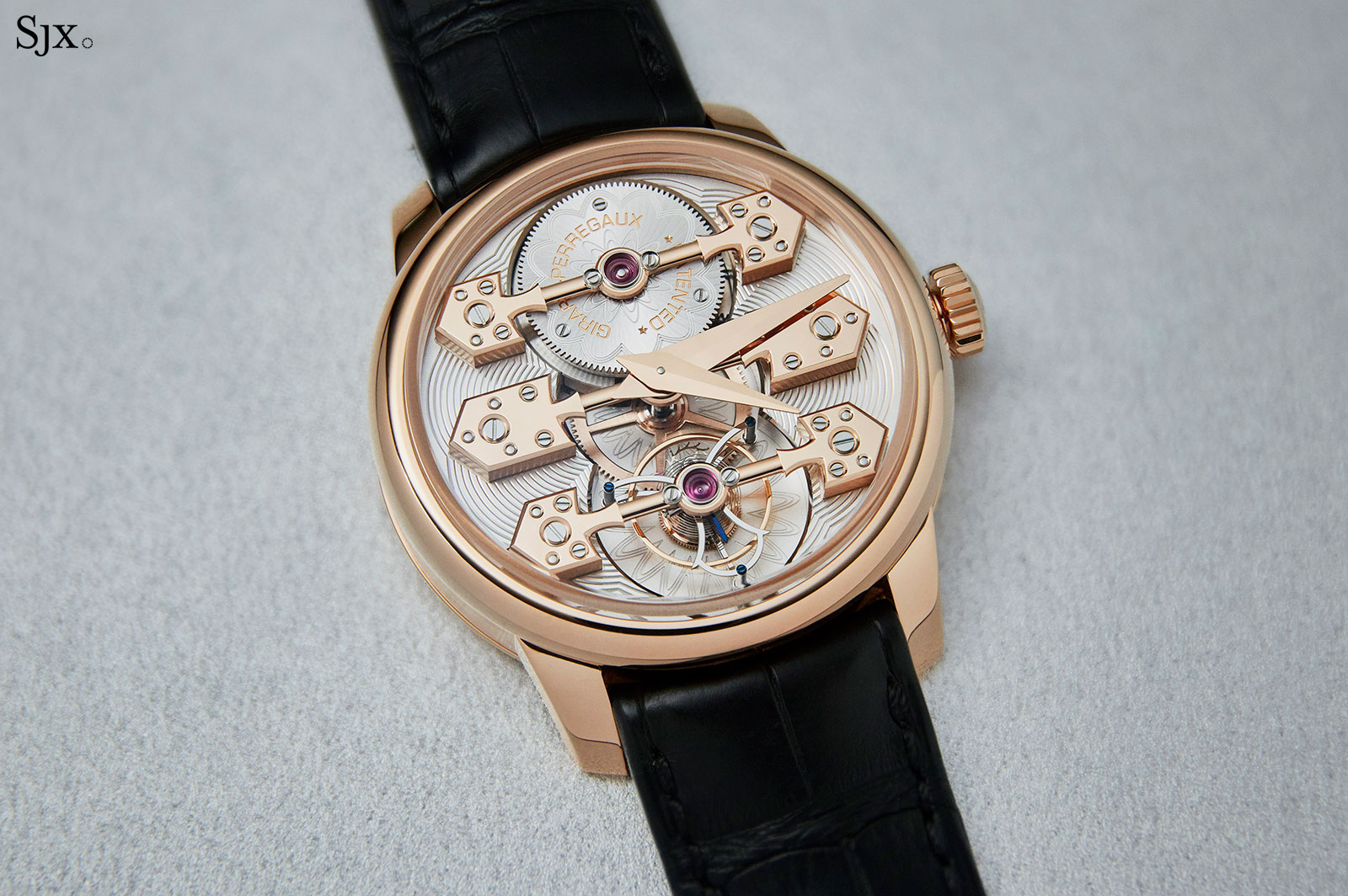 Girard Perregaux La Esmeralda Tourbillon watch