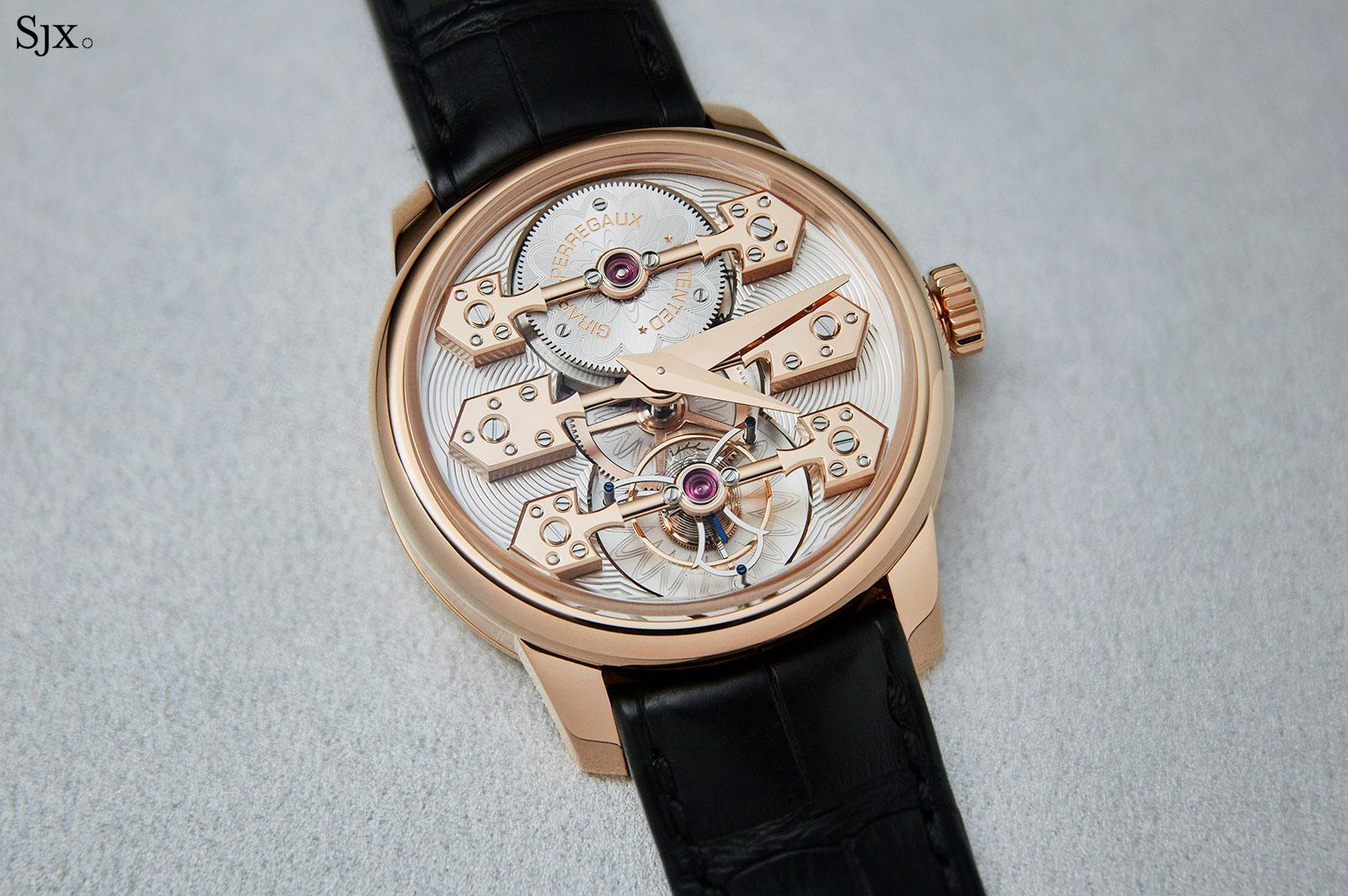 Girard Perregaux La Esmeralda Tourbillon watch