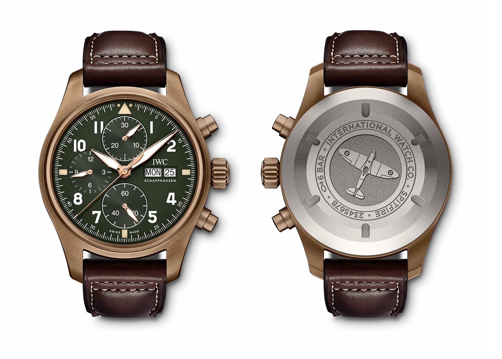 IWC Pilot Chronograph Spitfire bronze IW387902