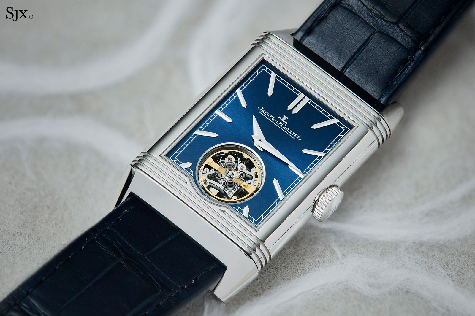 JaegerLeCoultre Reverso Tribute Flying Tourbillon 10