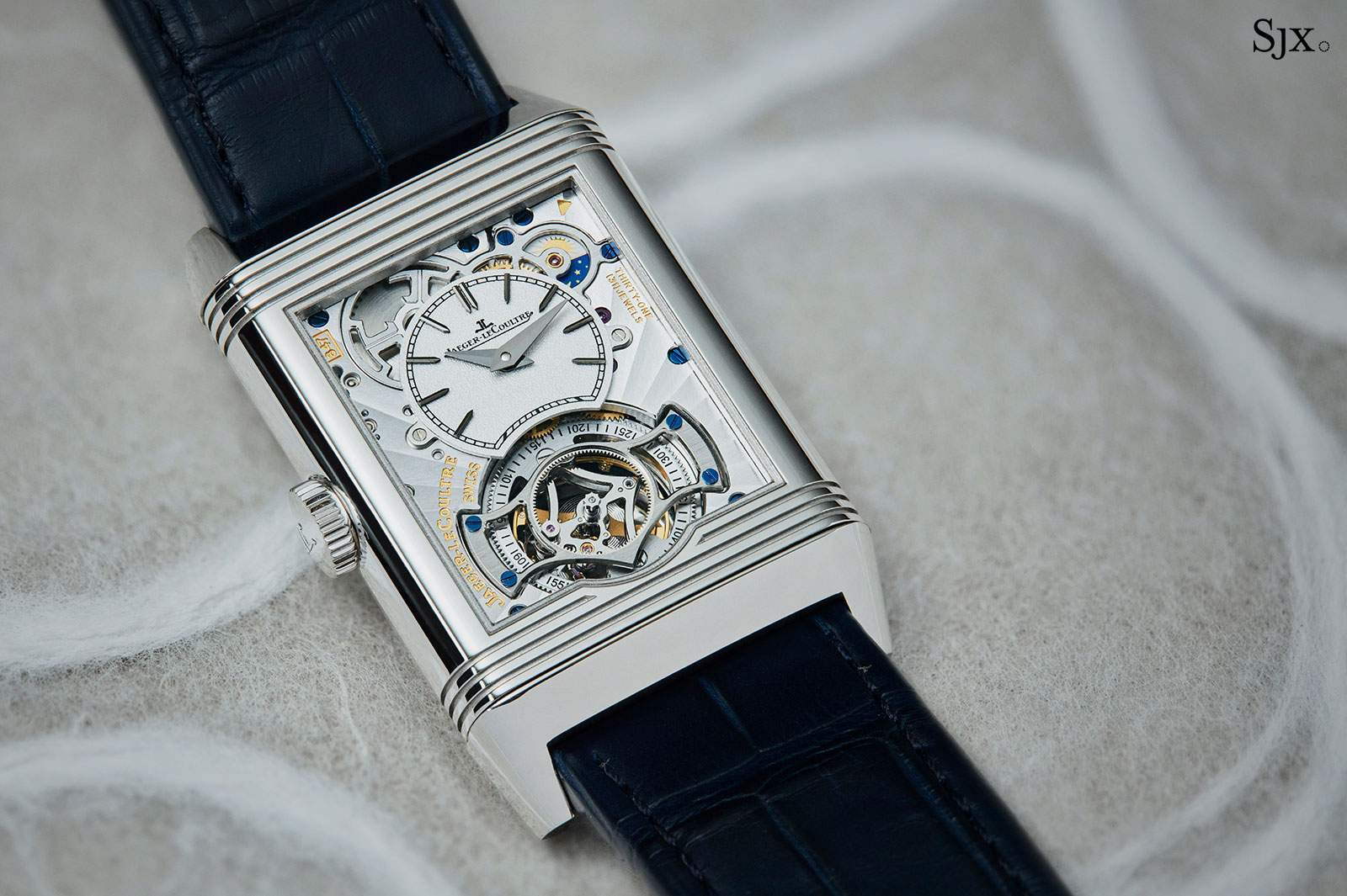 JaegerLeCoultre Reverso Tribute Flying Tourbillon 7