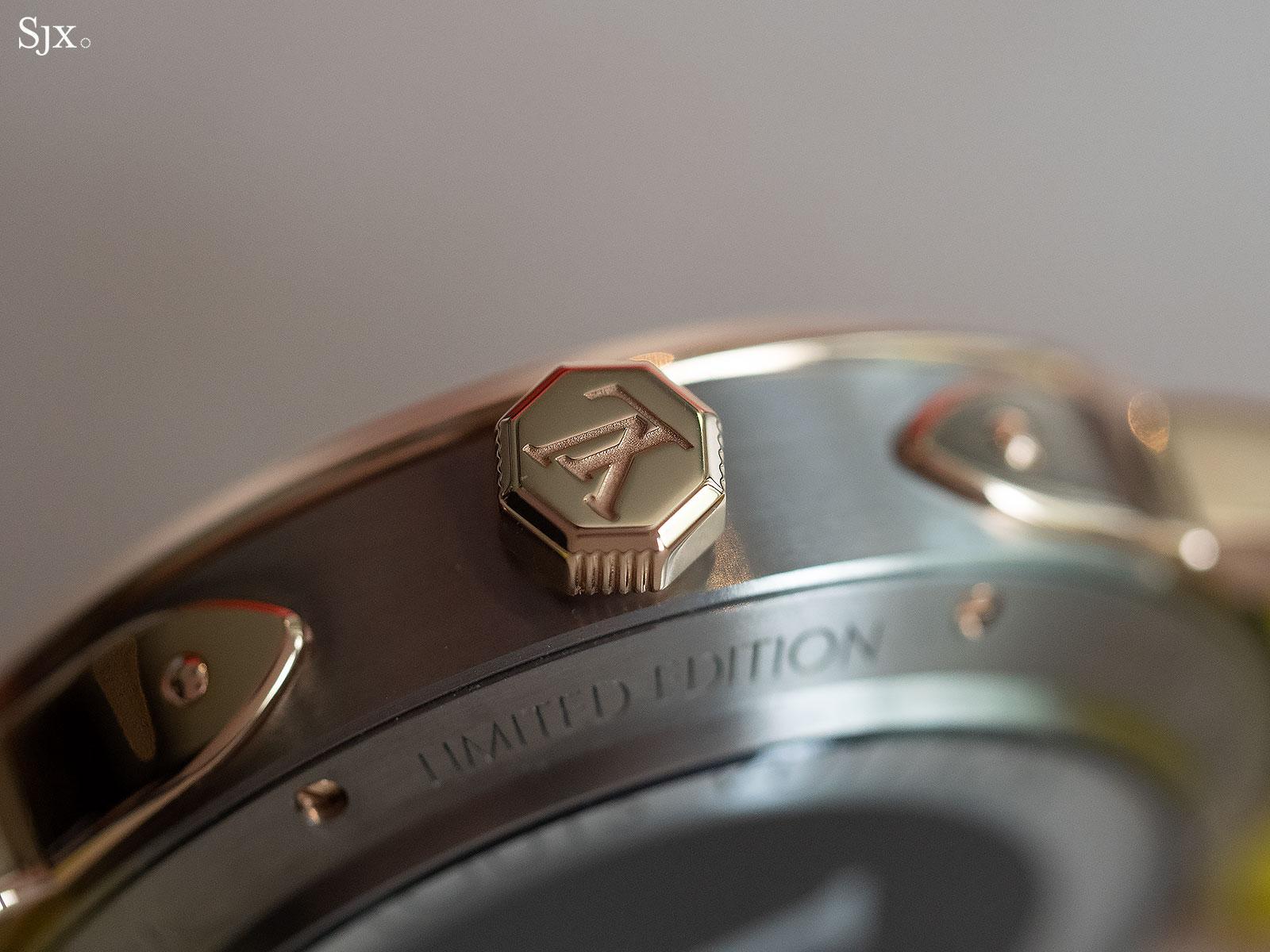 Louis Vuitton Escale Spin Time titanium gold 5