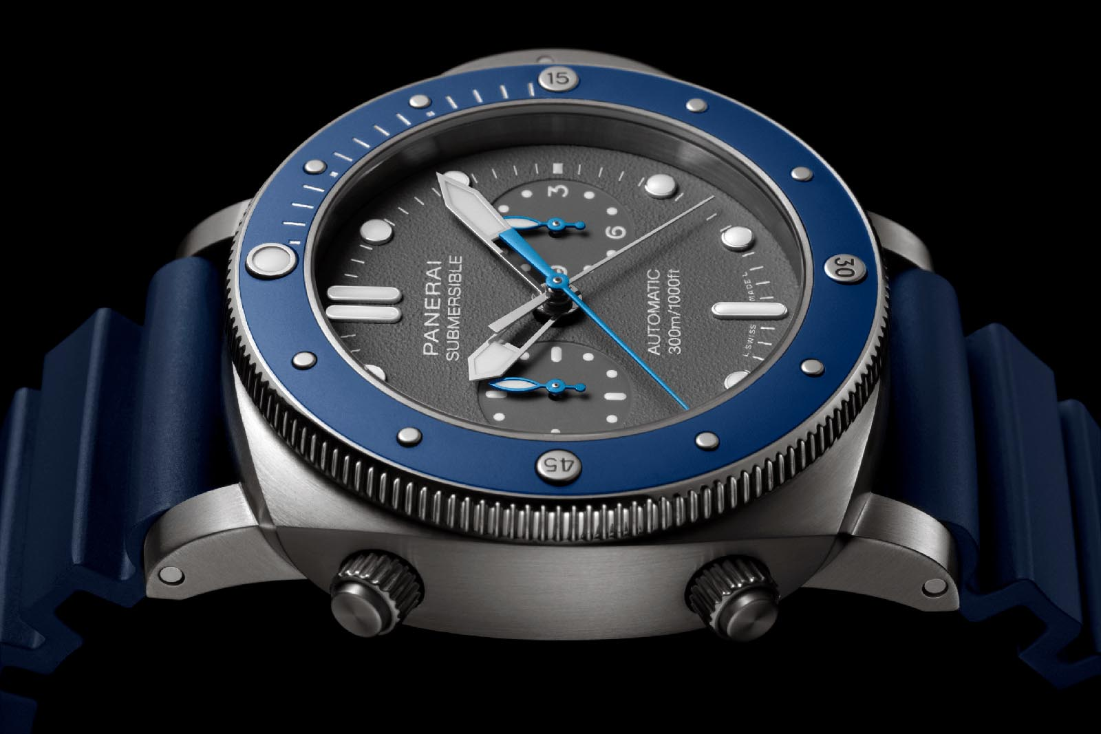 Panerai Submersible Chrono Guillaume Néry Edition PAM00982 2
