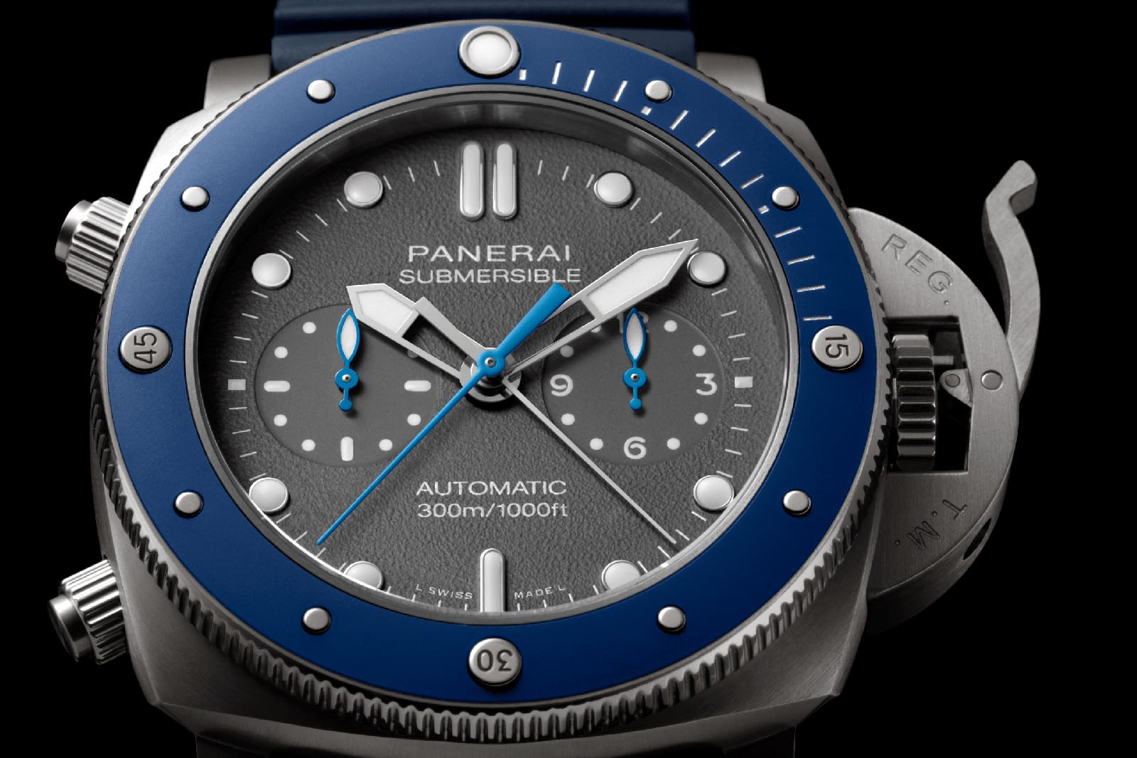 Panerai Submersible Chrono Guillaume Néry Edition PAM00982 3