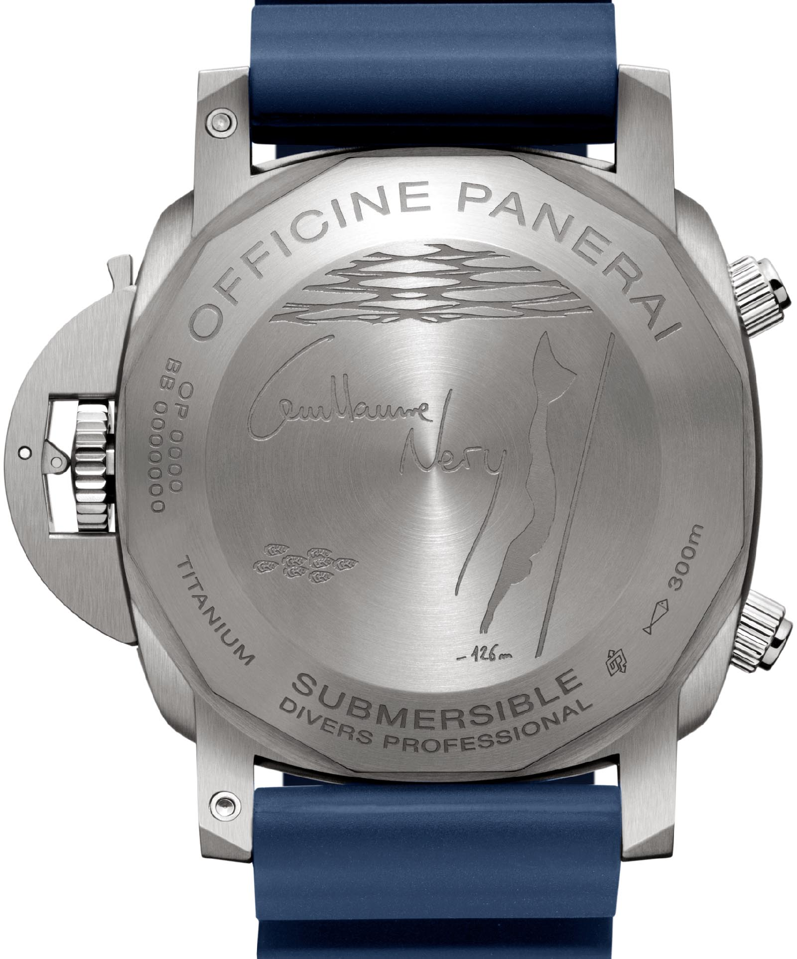 Panerai Submersible Chrono Guillaume Néry Edition PAM00982 4