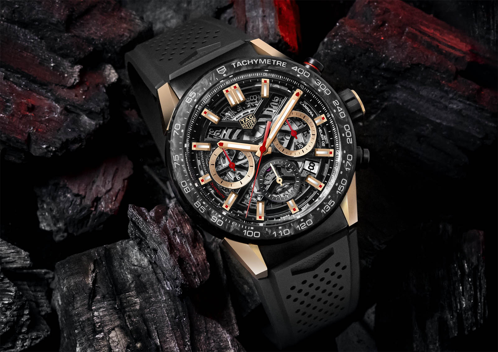 TAG Heuer Carrera Carbon Collection 6