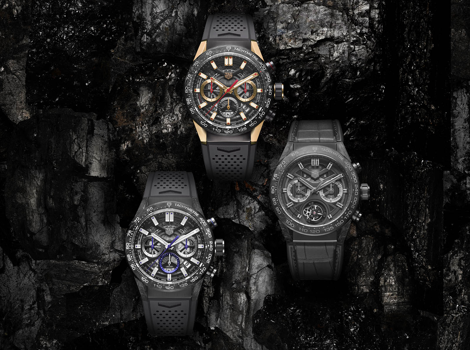 TAG Heuer Carrera Carbon Collection