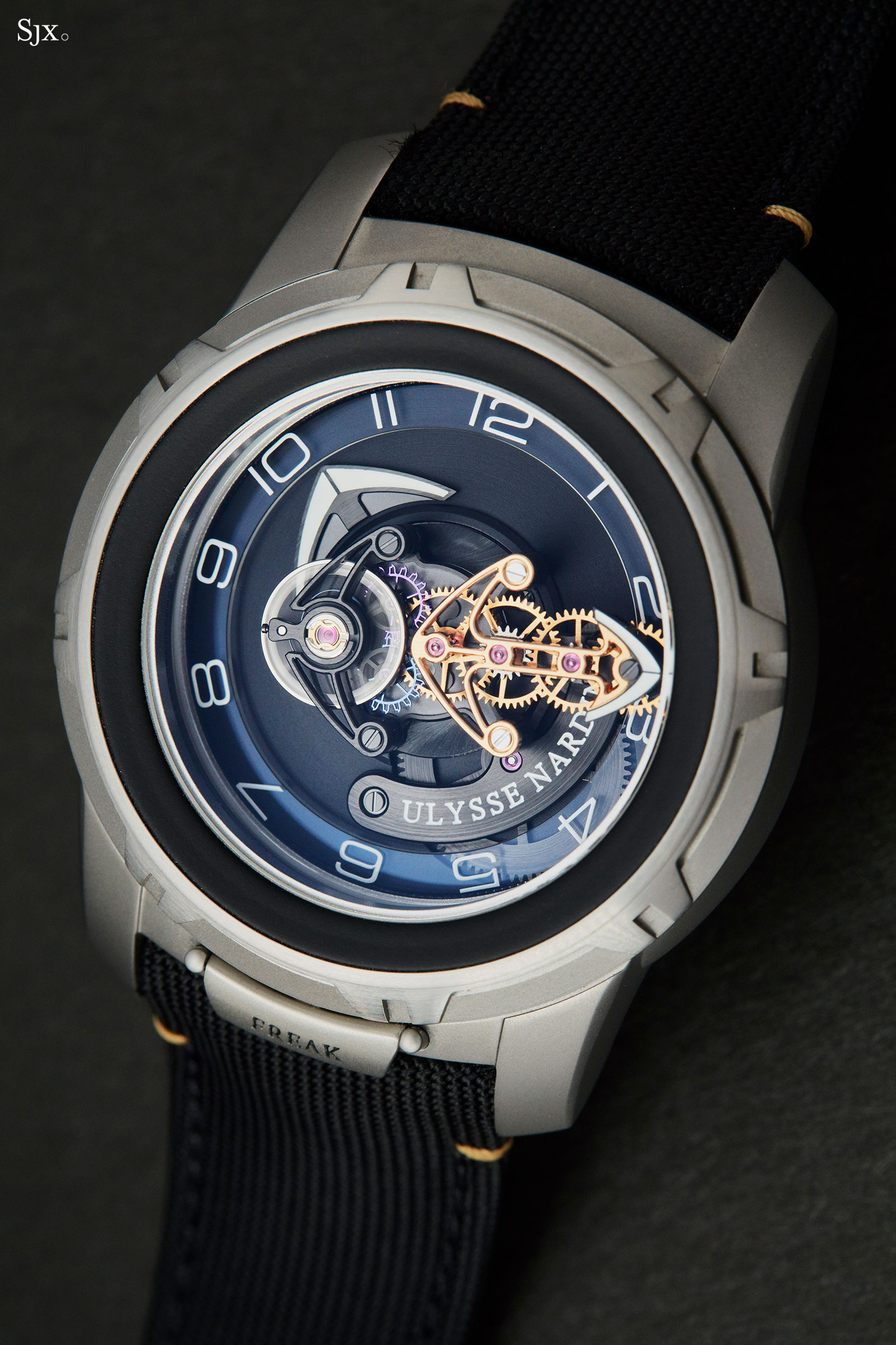 Ulysse Nardin Freak Out Black Gold 10