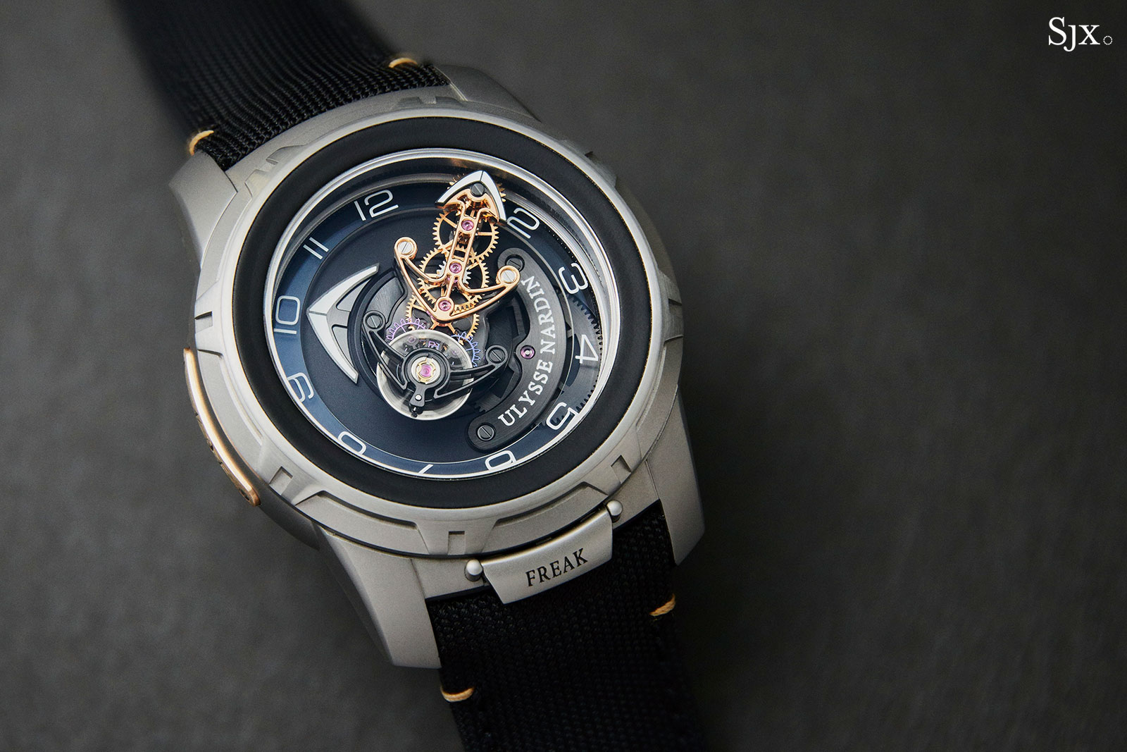 Ulysse Nardin Freak Out Black Gold 1