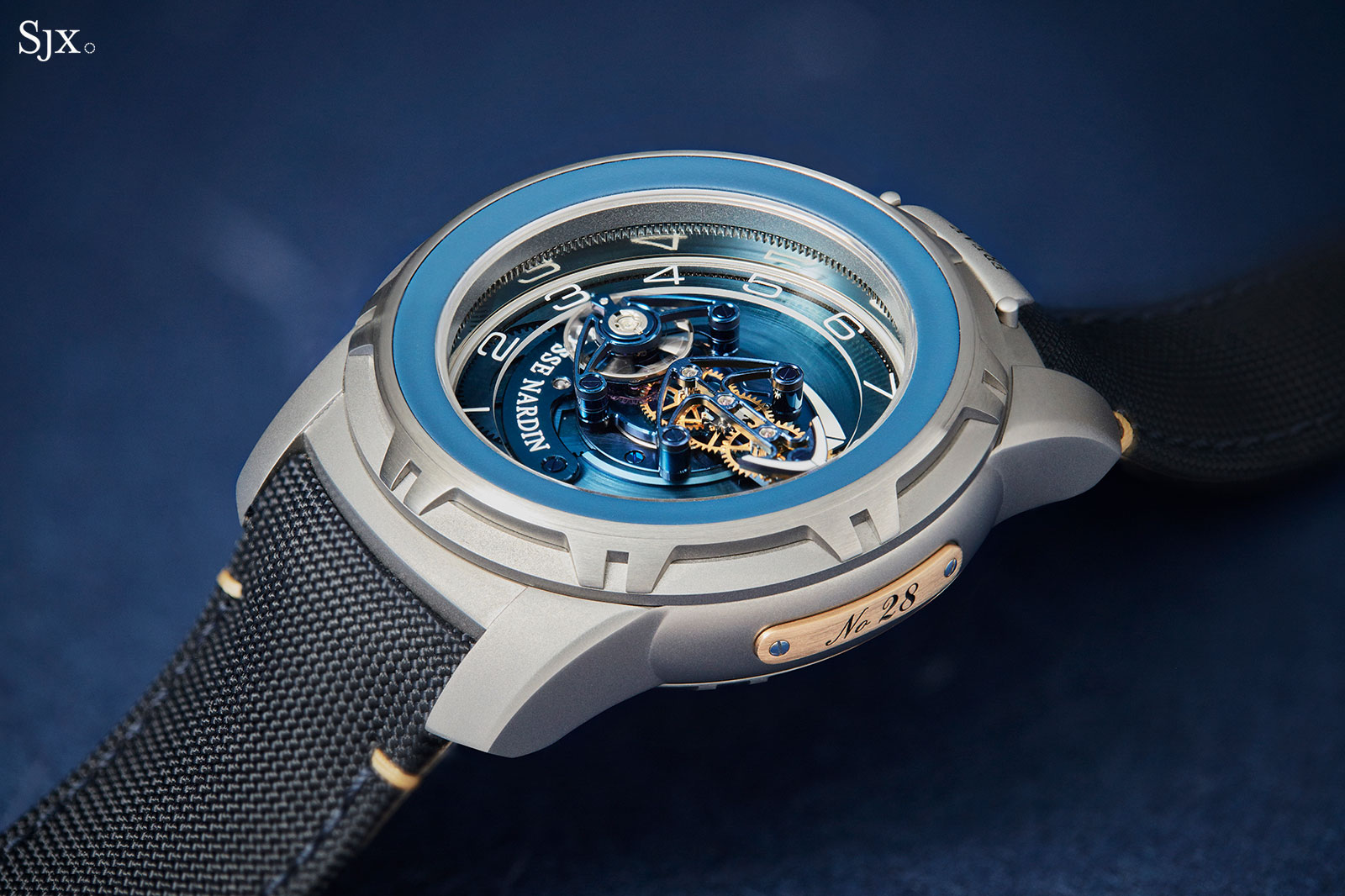 Ulysse Nardin Freak Out Blue Gold 4