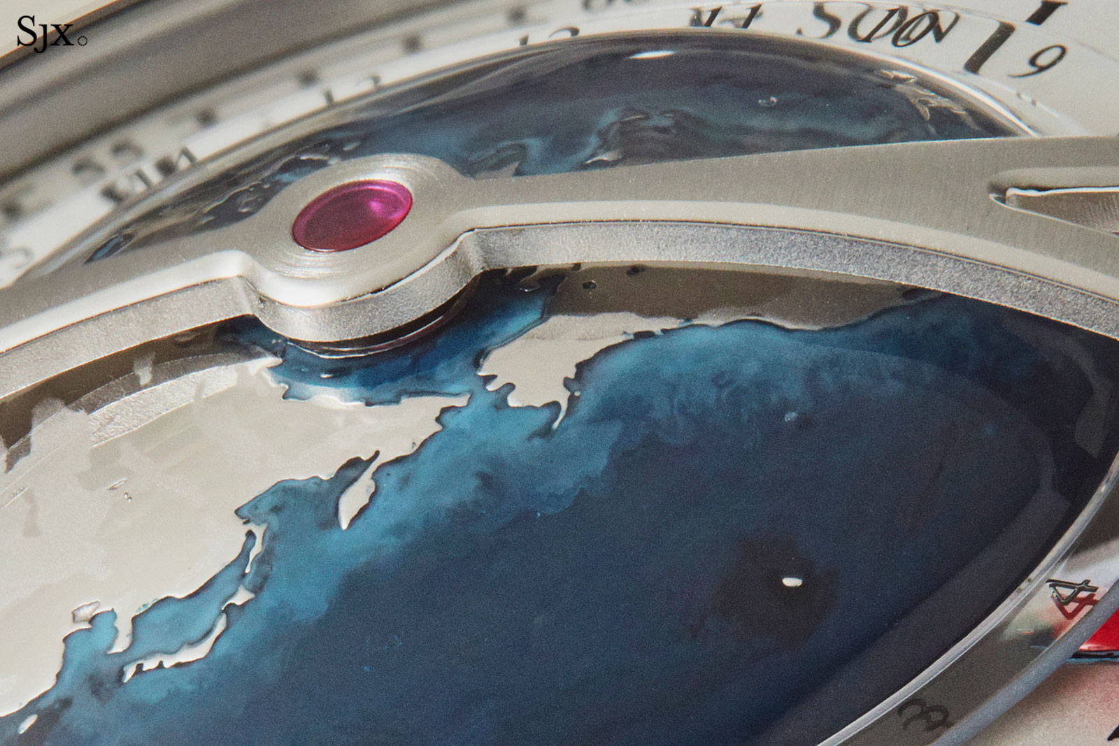 Arnold son globetrotter world time 1