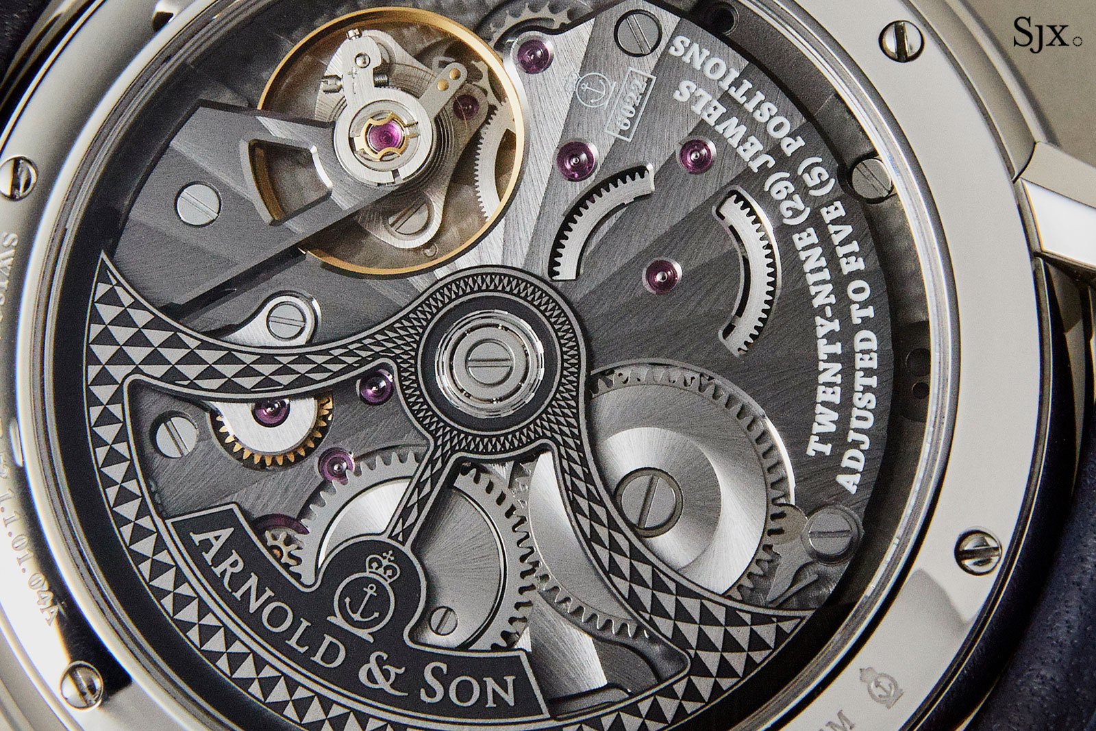 Arnold son globetrotter world time 4
