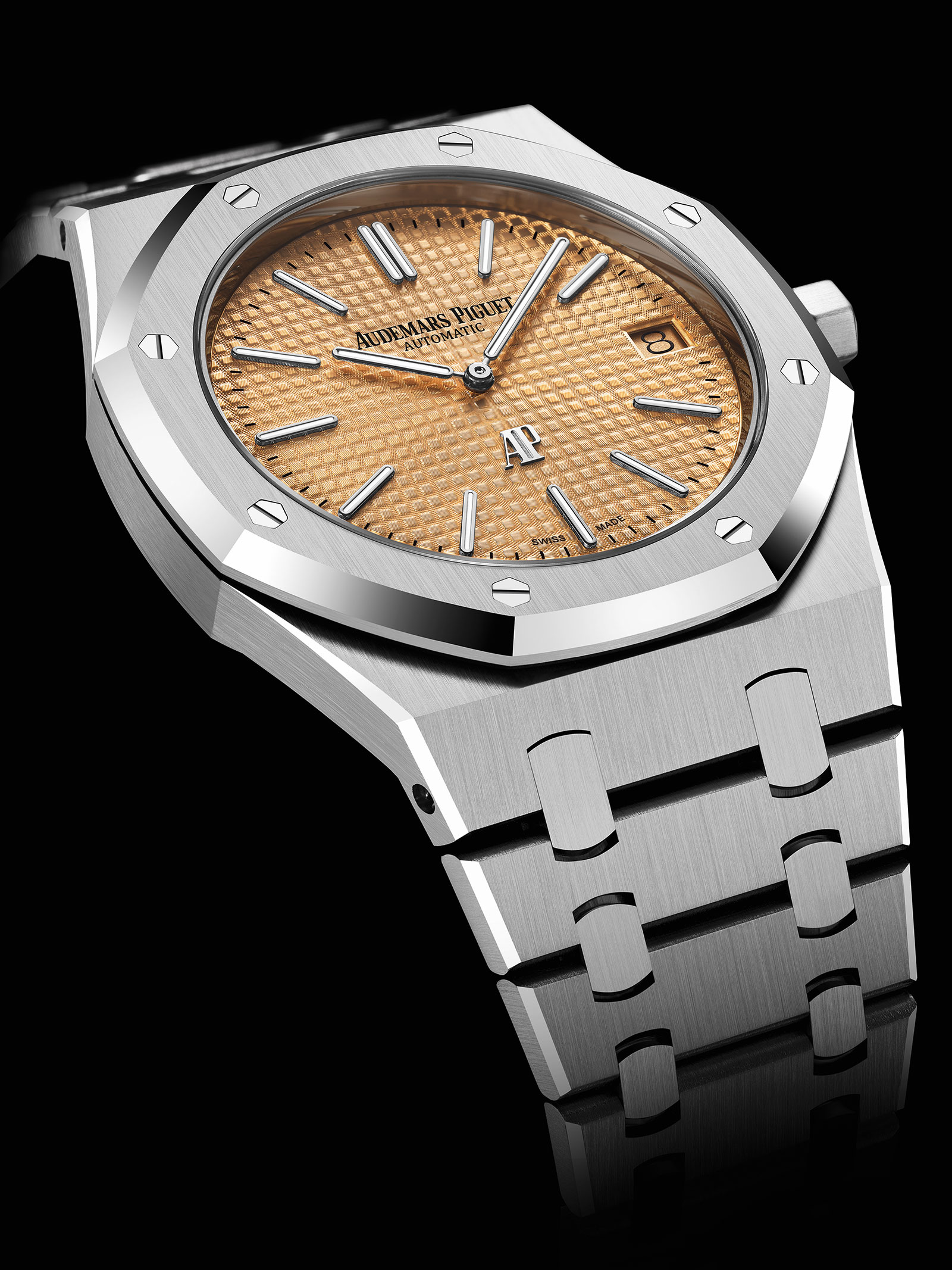 Audemars Piguet Royal Oak Extra Thin 15202 salmon 2