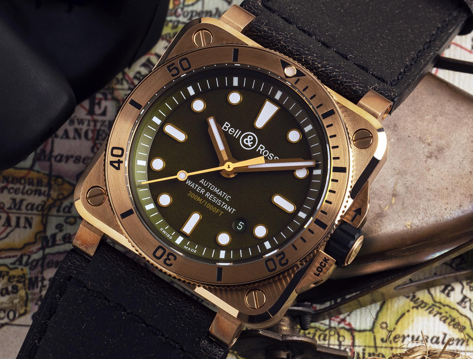 Bell & Ross BR 03-92 Bronze Diver Cortina Limited Edition 2