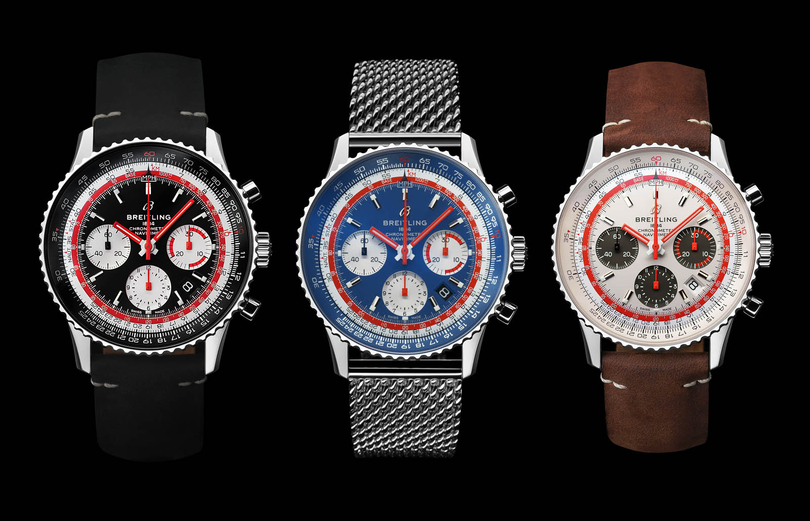 prix compétitif 69f15 09f04 Breitling Introduces the Navitimer 1 Airline Editions | SJX ...