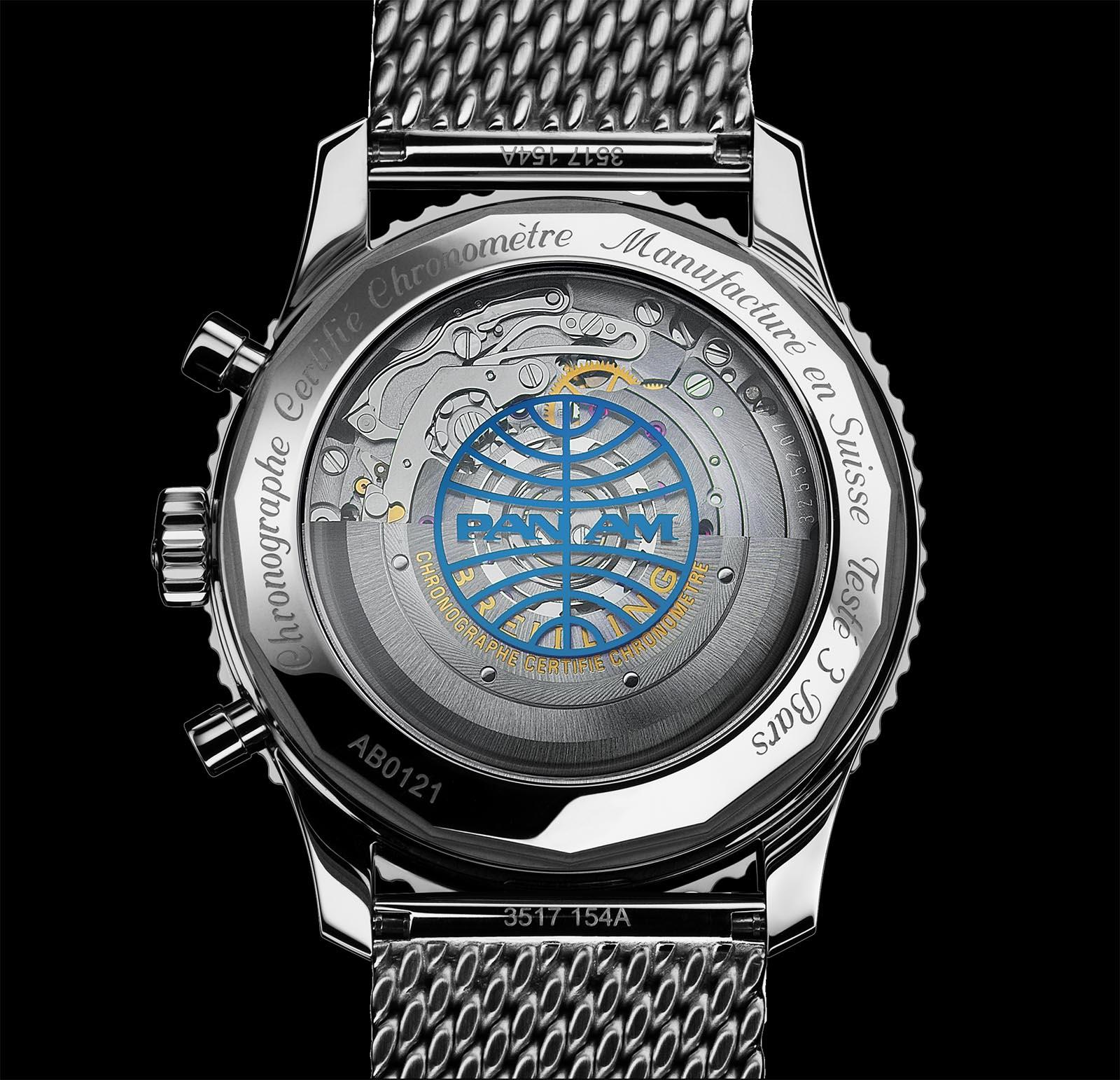 Breitling Navitimer 1 B01 Chronograph 43 Pan Am Edition 2