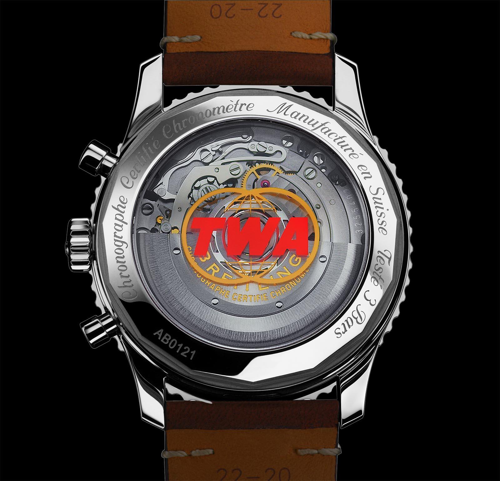 Breitling Navitimer 1 B01 Chronograph 43 TWA Edition 2