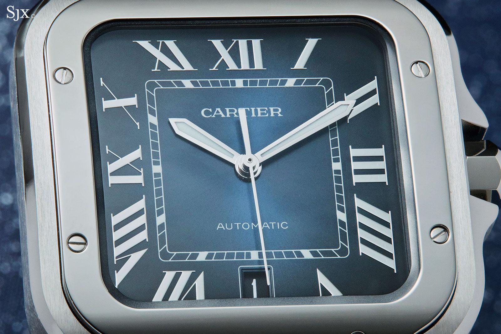 Cartier Santos Large gradient blue 4