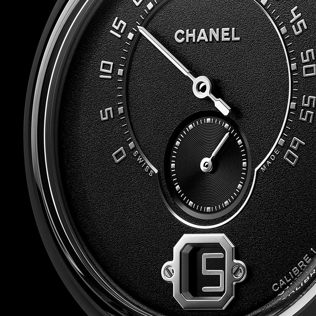 Chanel Monsieur Édition Noire watch 2