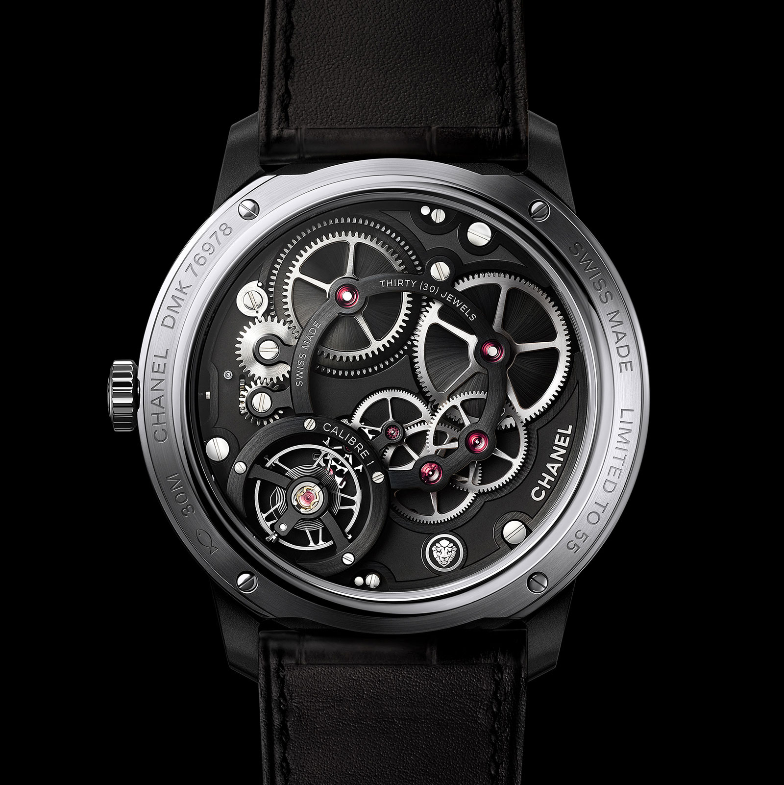 Chanel Monsieur Édition Noire watch 3