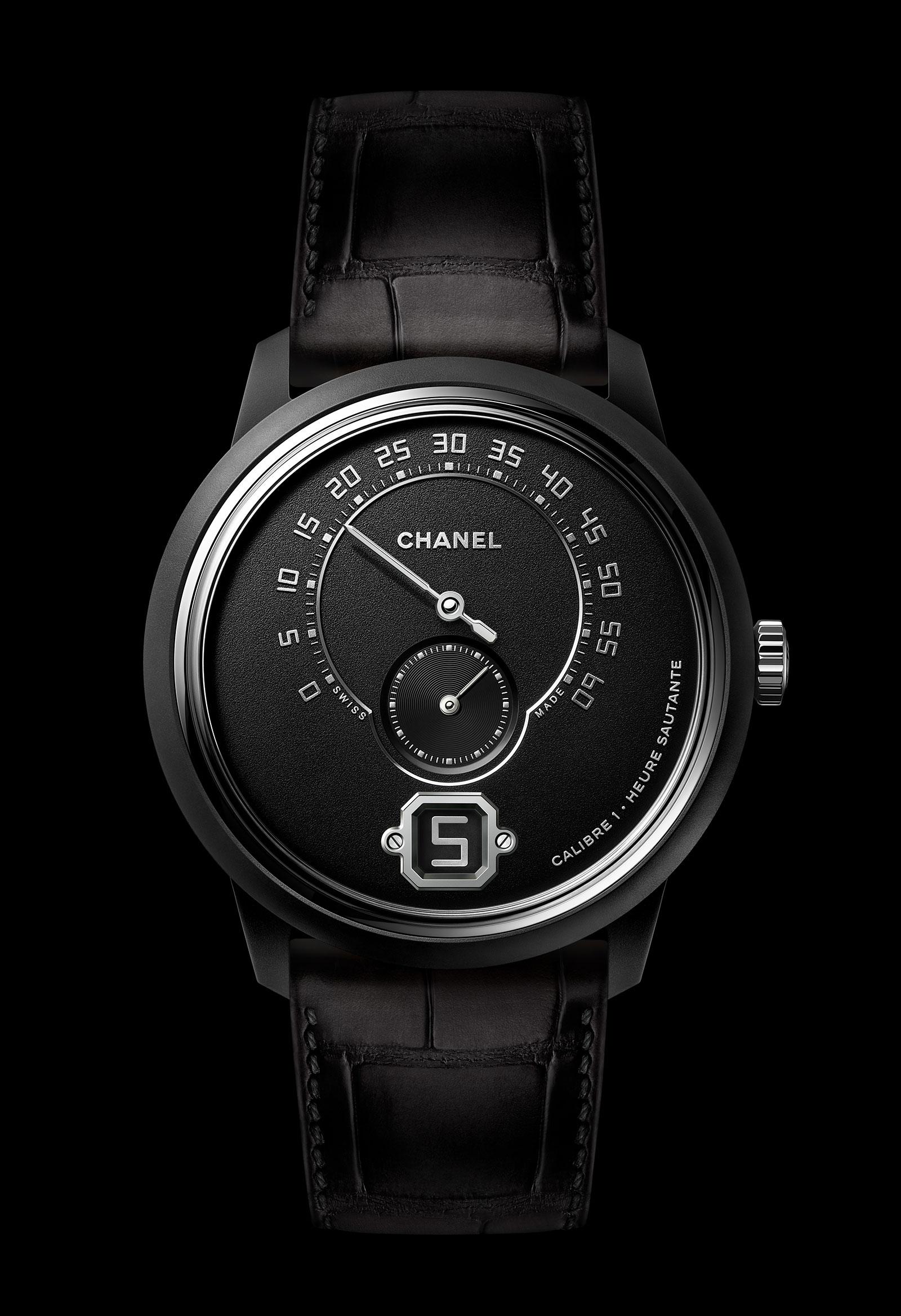 Chanel Monsieur Édition Noire watch 4