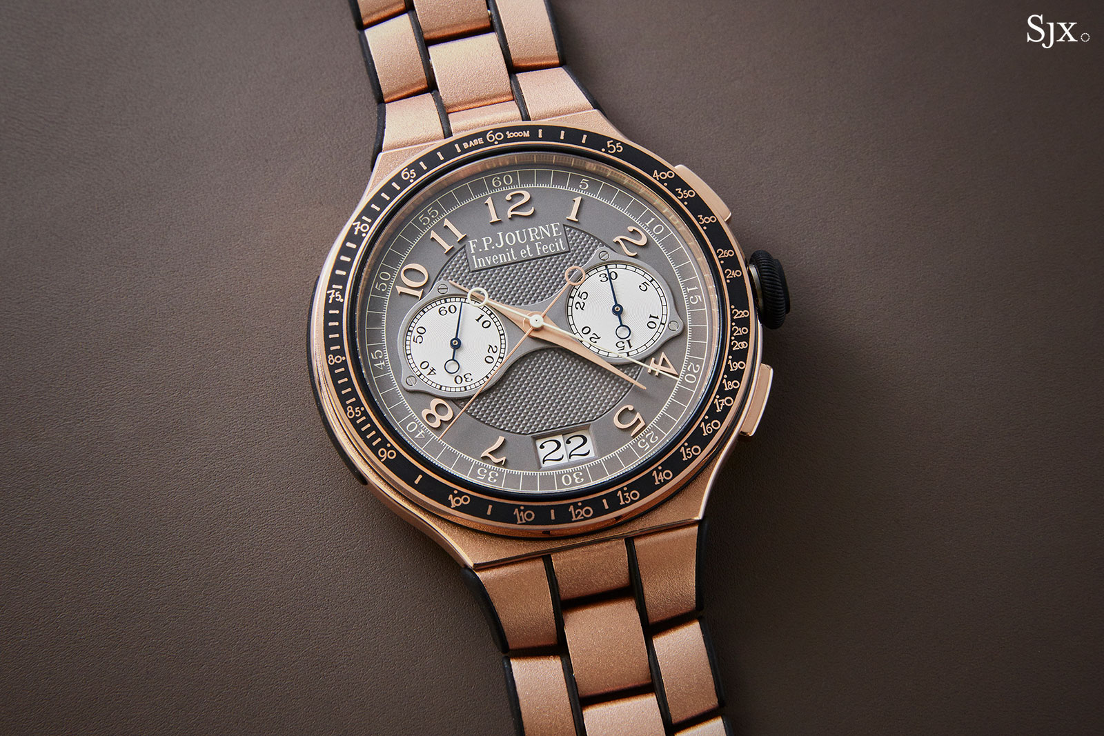 FP Journe Chronographe Monopoussoir Rattrapante rose gold 1