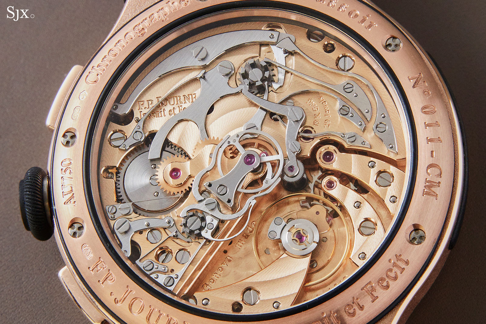 FP Journe Chronographe Monopoussoir Rattrapante rose gold 4