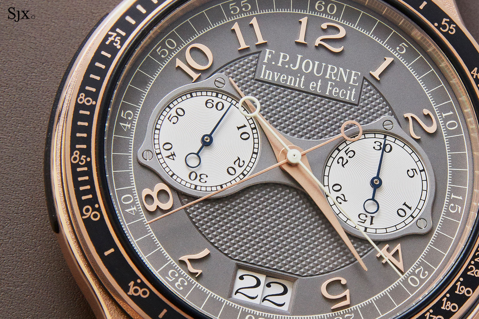 FP Journe Chronographe Monopoussoir Rattrapante rose gold 5