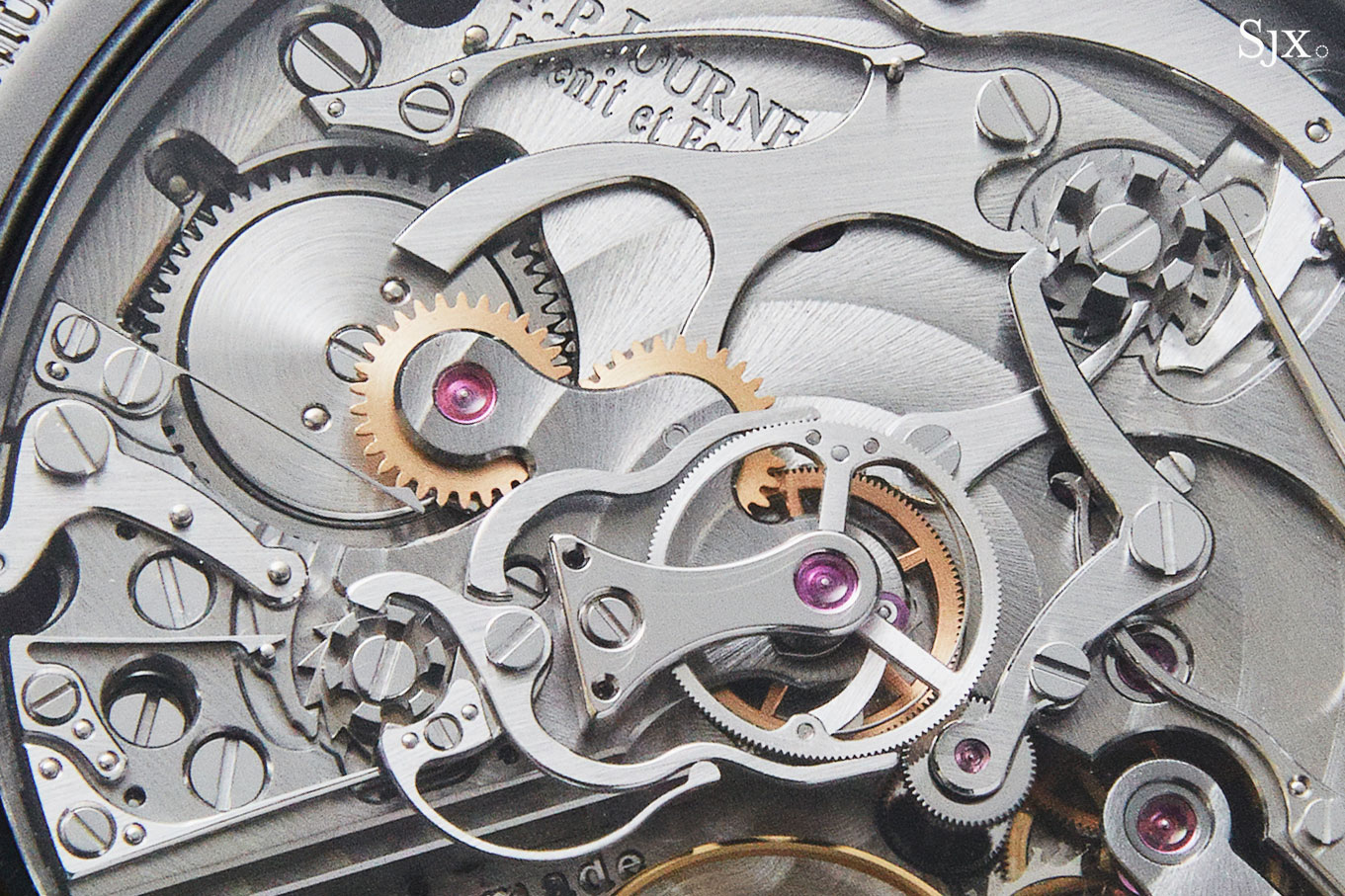 FP Journe Linesport Chronograph split seconds titanium 2