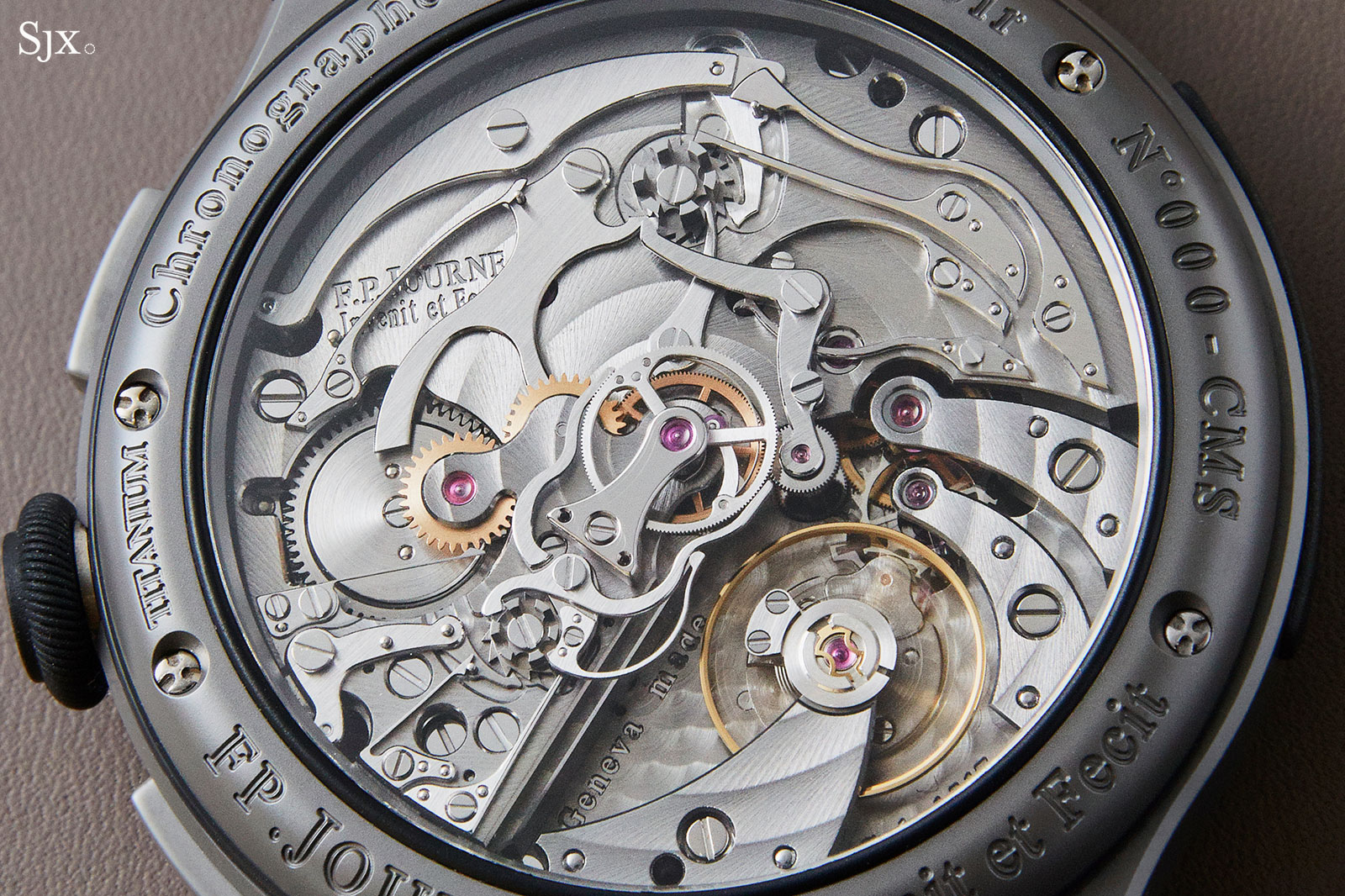 FP Journe Linesport Chronograph split seconds titanium 6