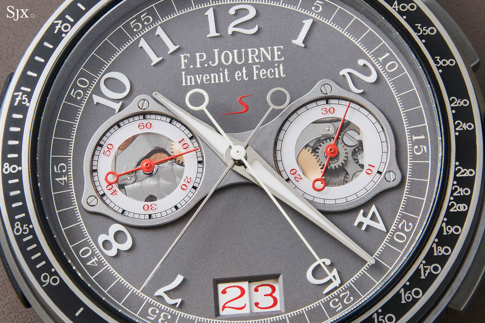 FP Journe Linesport Chronograph split seconds titanium 7