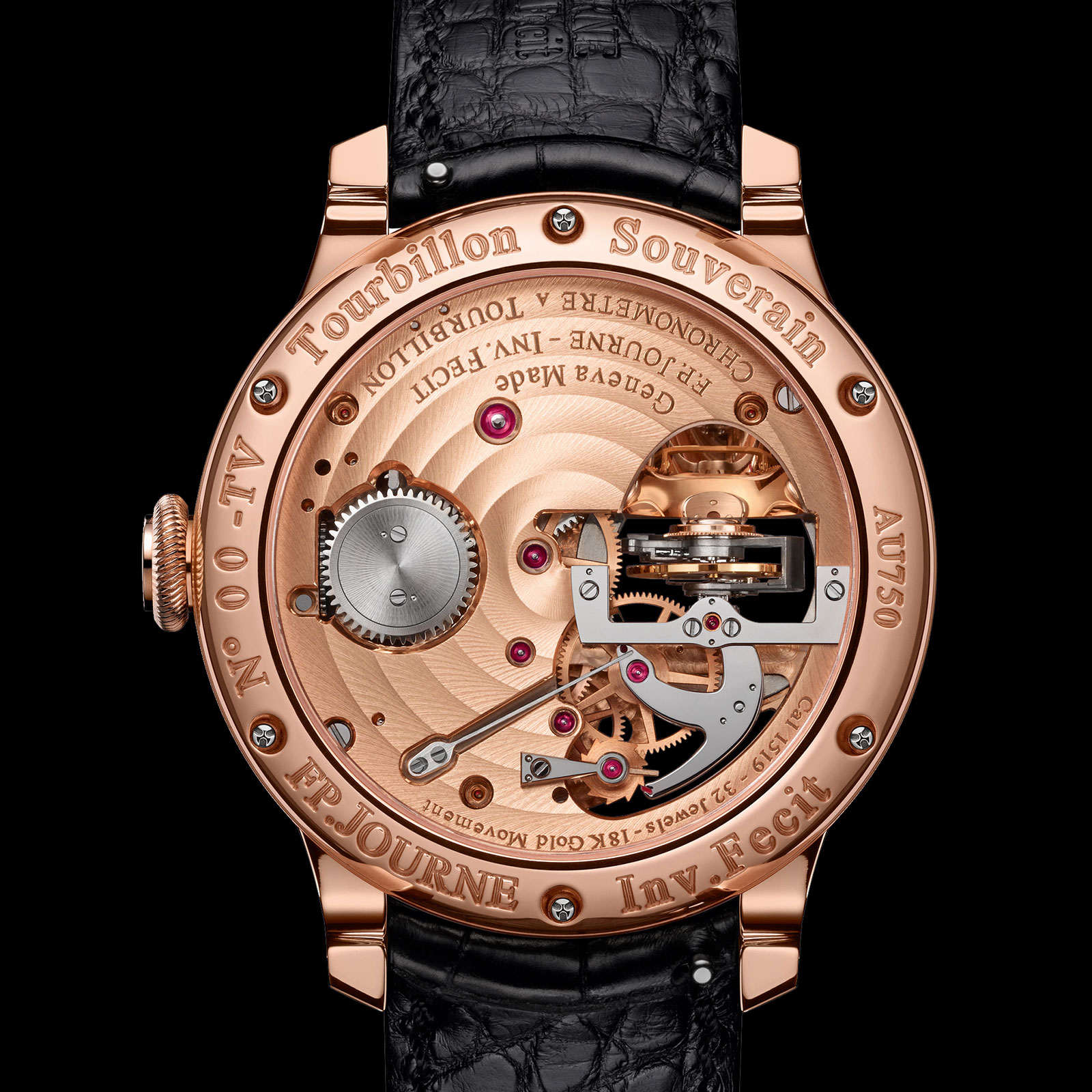 FP Journe Tourbillon Souverain Vertical 2