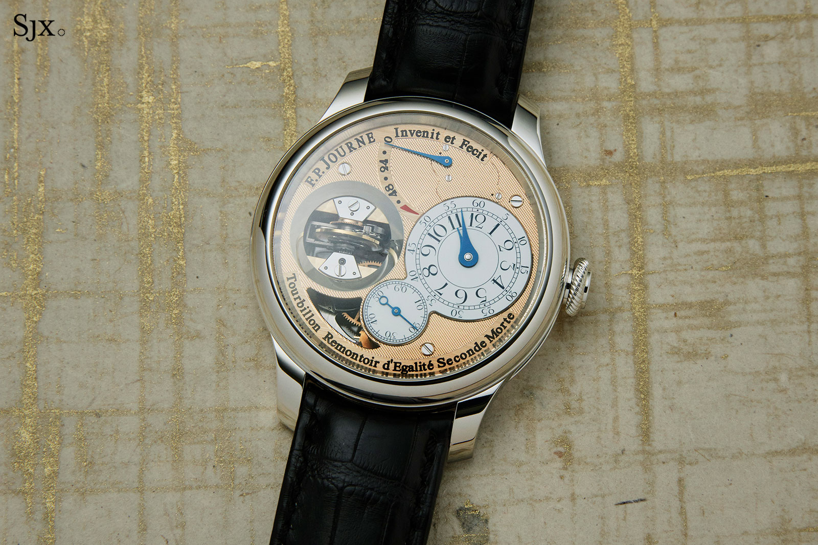 FP Journe Tourbillon Souverain Vertical Pt 1