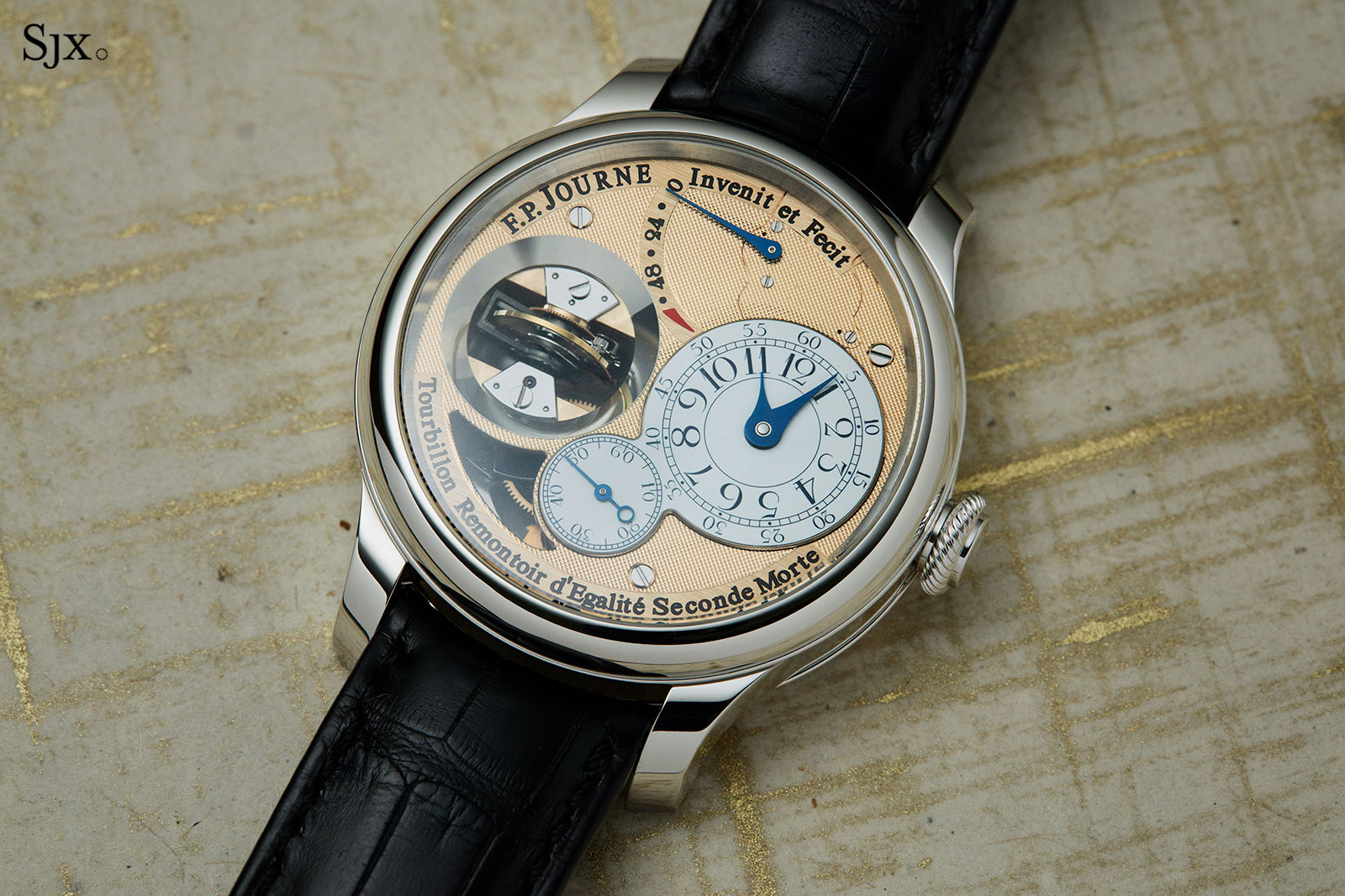FP Journe Tourbillon Souverain Vertical Pt 5