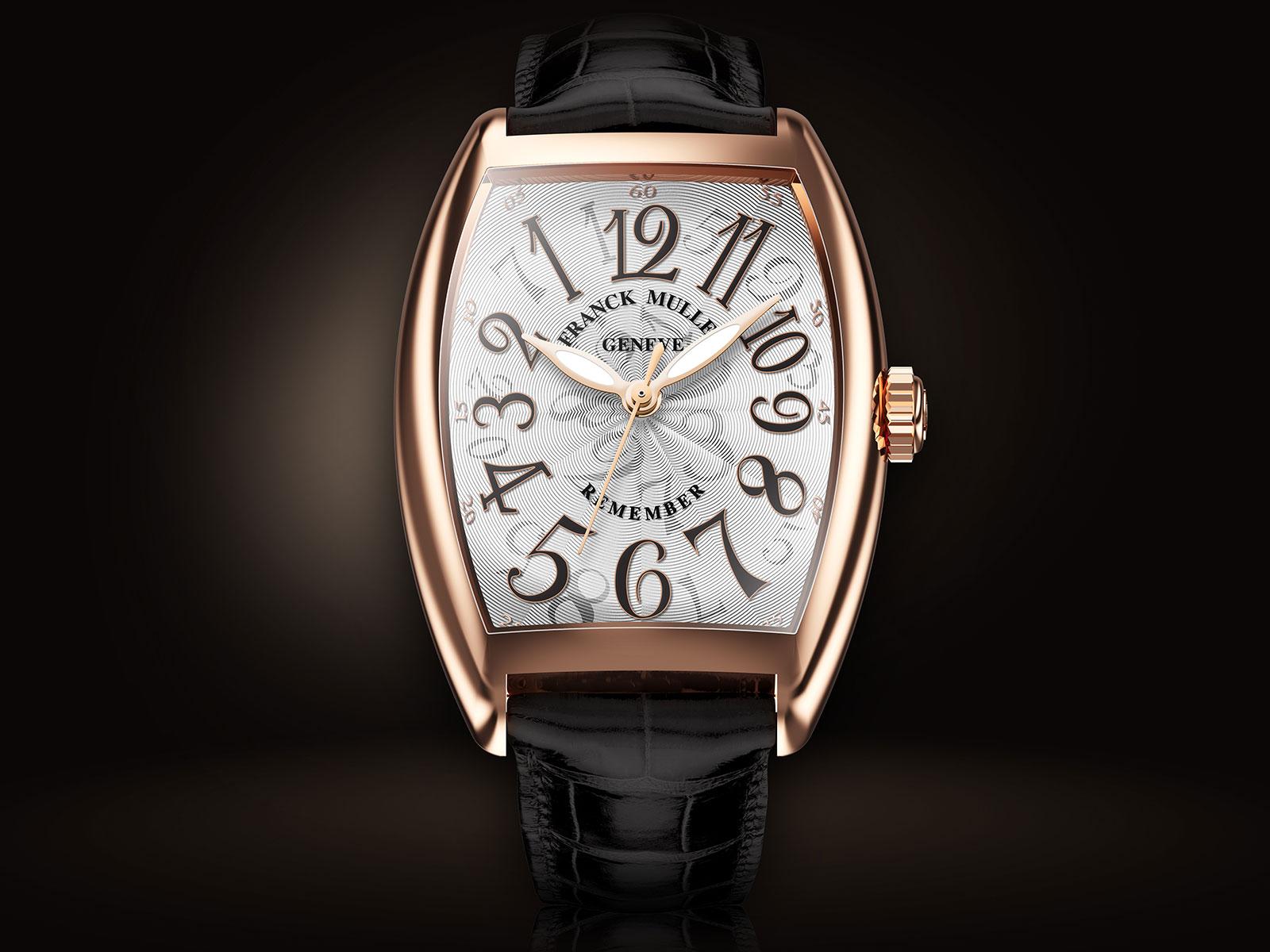 Franck Muller Remember Backwards watch 1