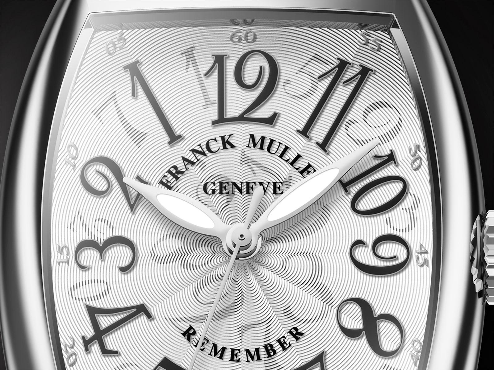 Franck Muller Remember steel 1