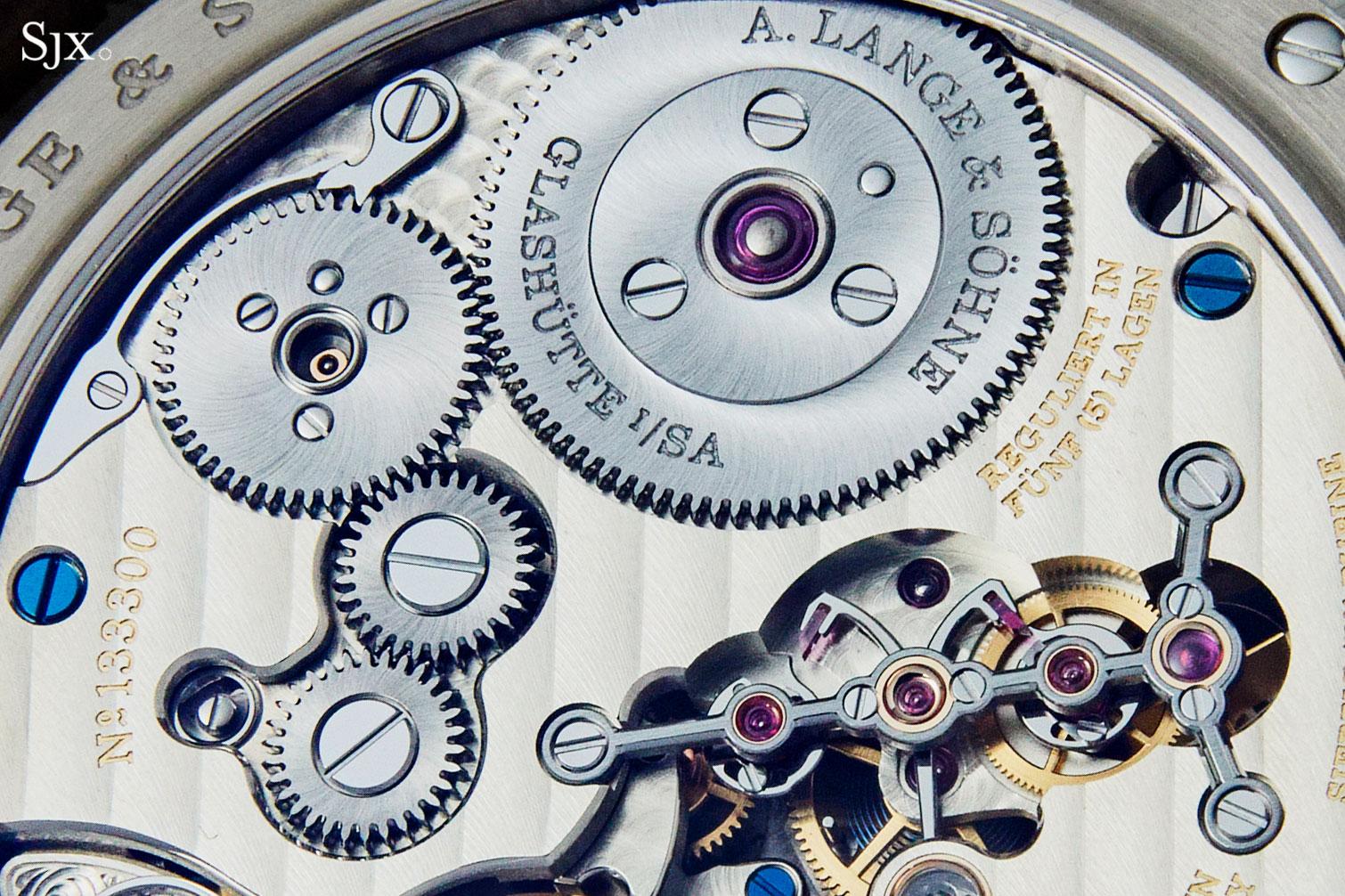 Lange Zeitwerk Date white gold 3
