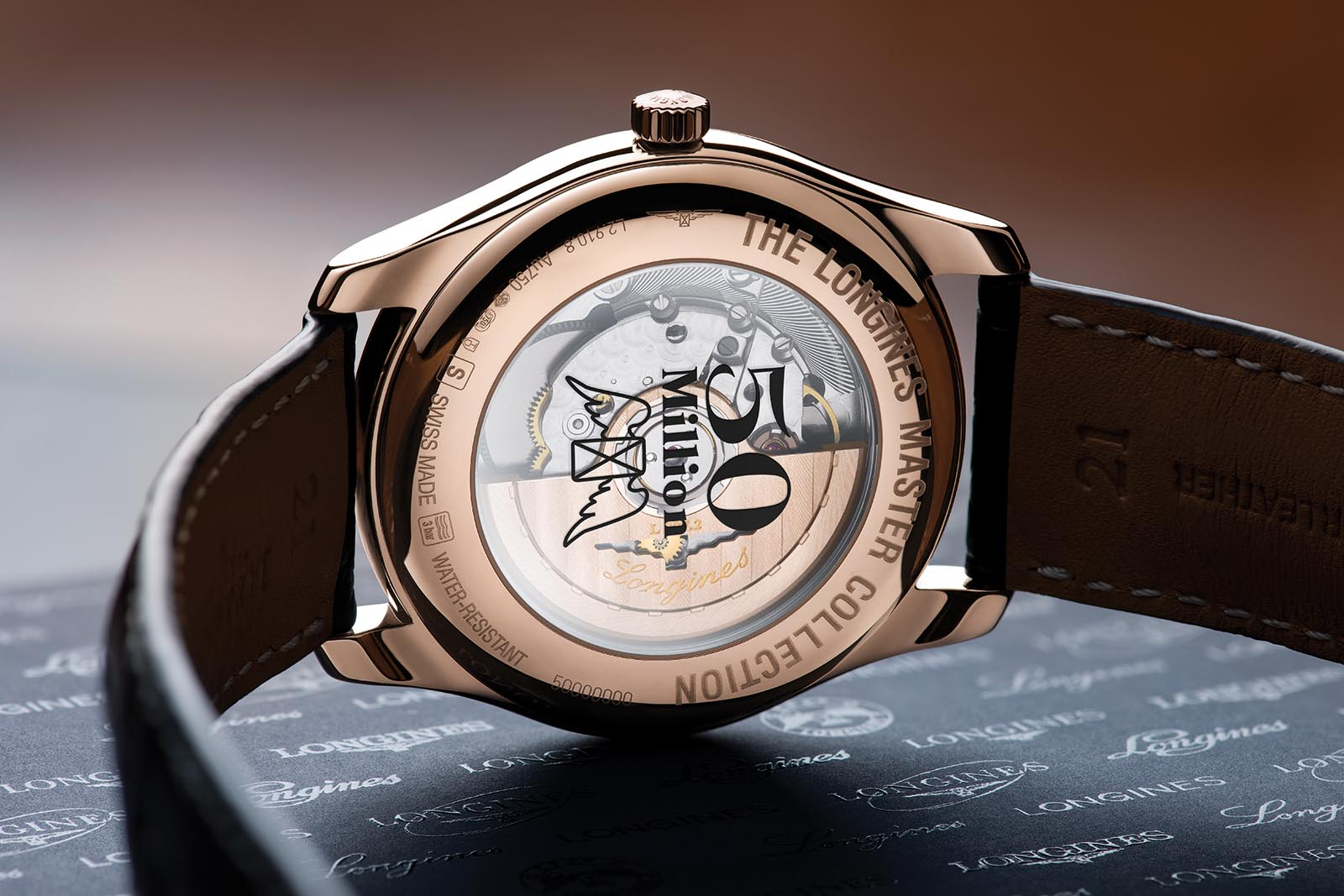 Longines 50 Millionth Watch - Annual Calendar 2